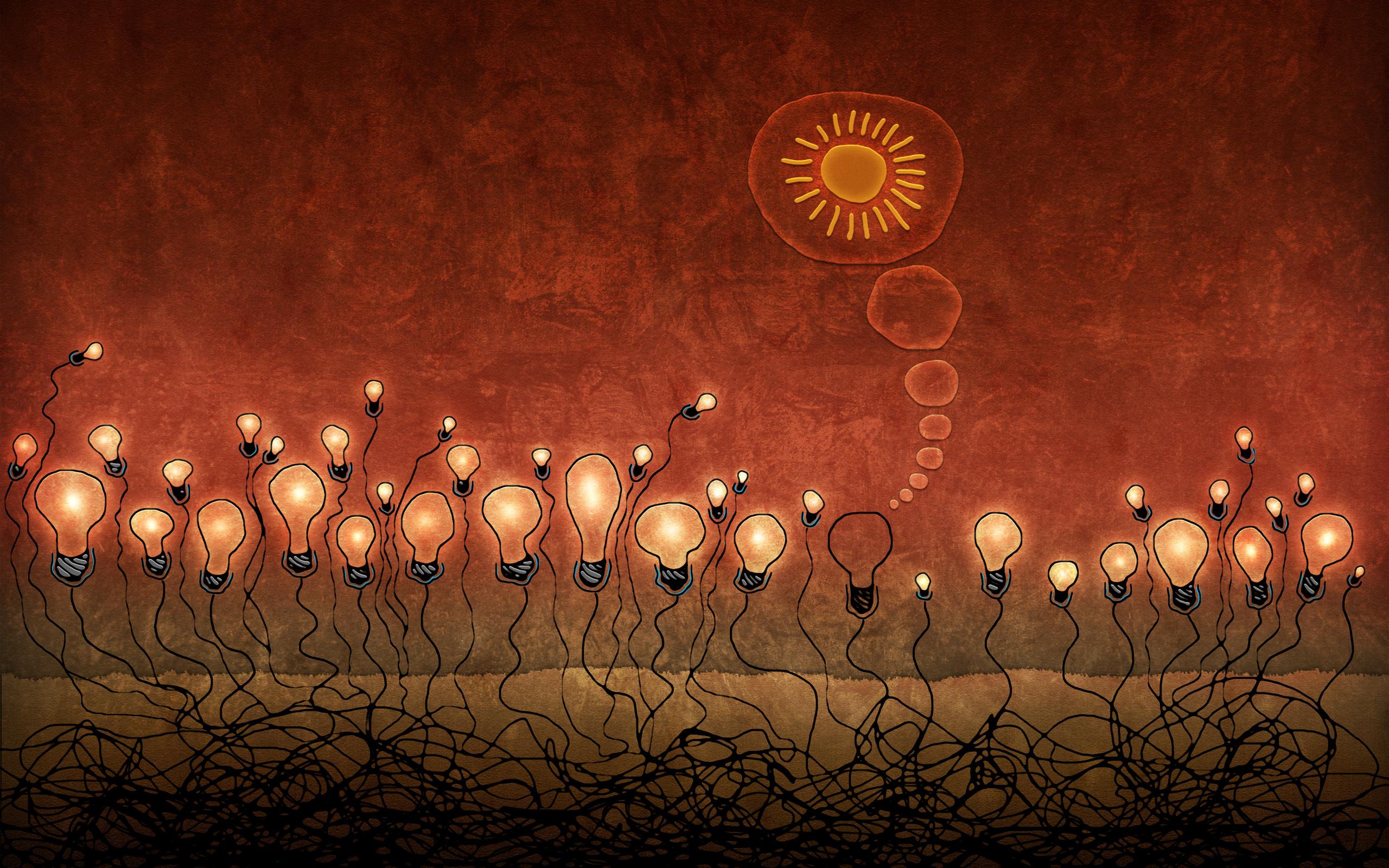 ряд абстрактные картинки лампа свет помощник выборе товаров