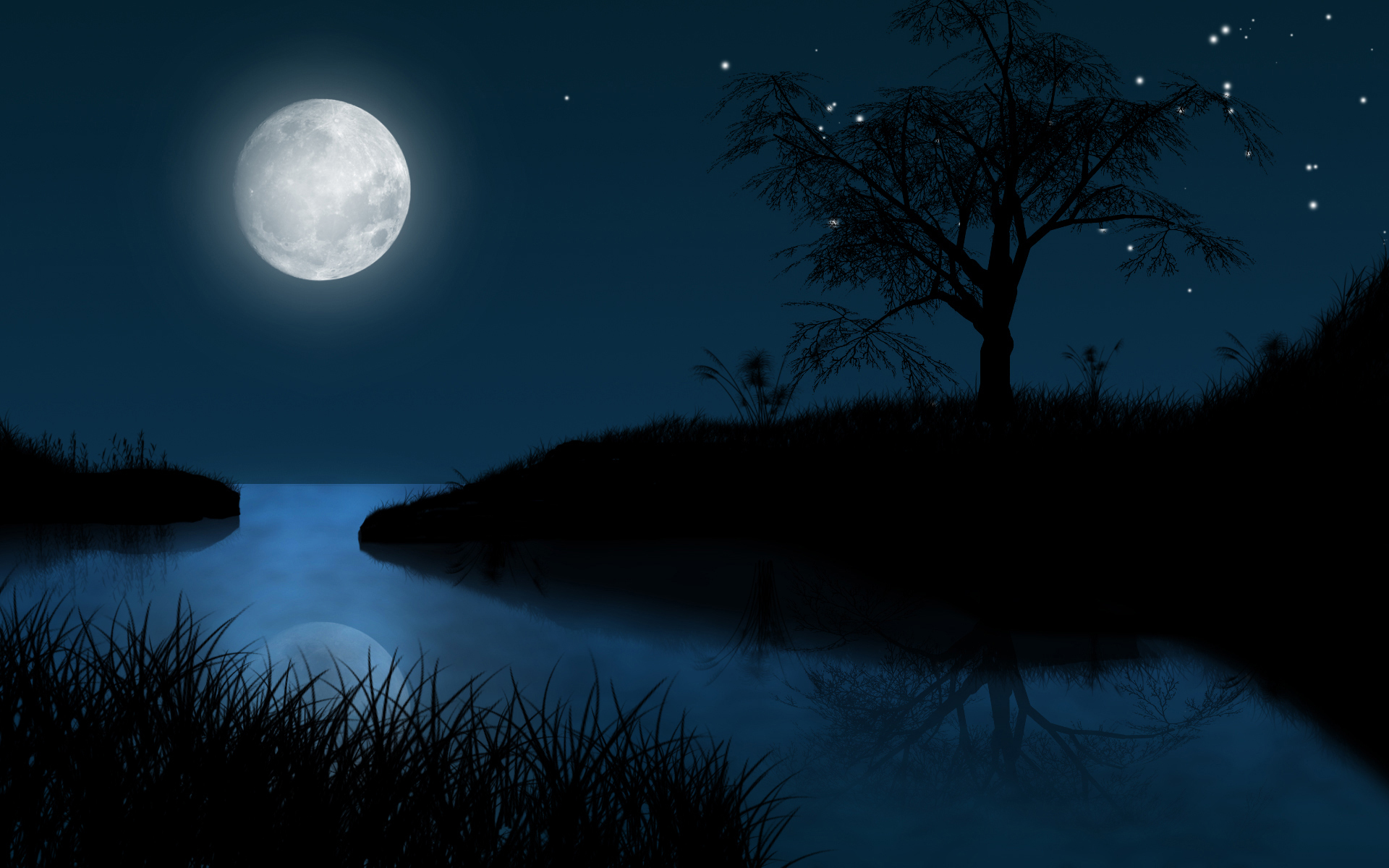 агрегаты картинки природа полночь тракториста