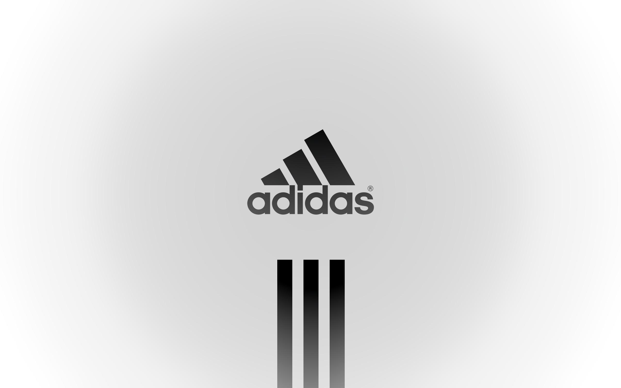 картинка знак адидас белая надпись на черном фоне