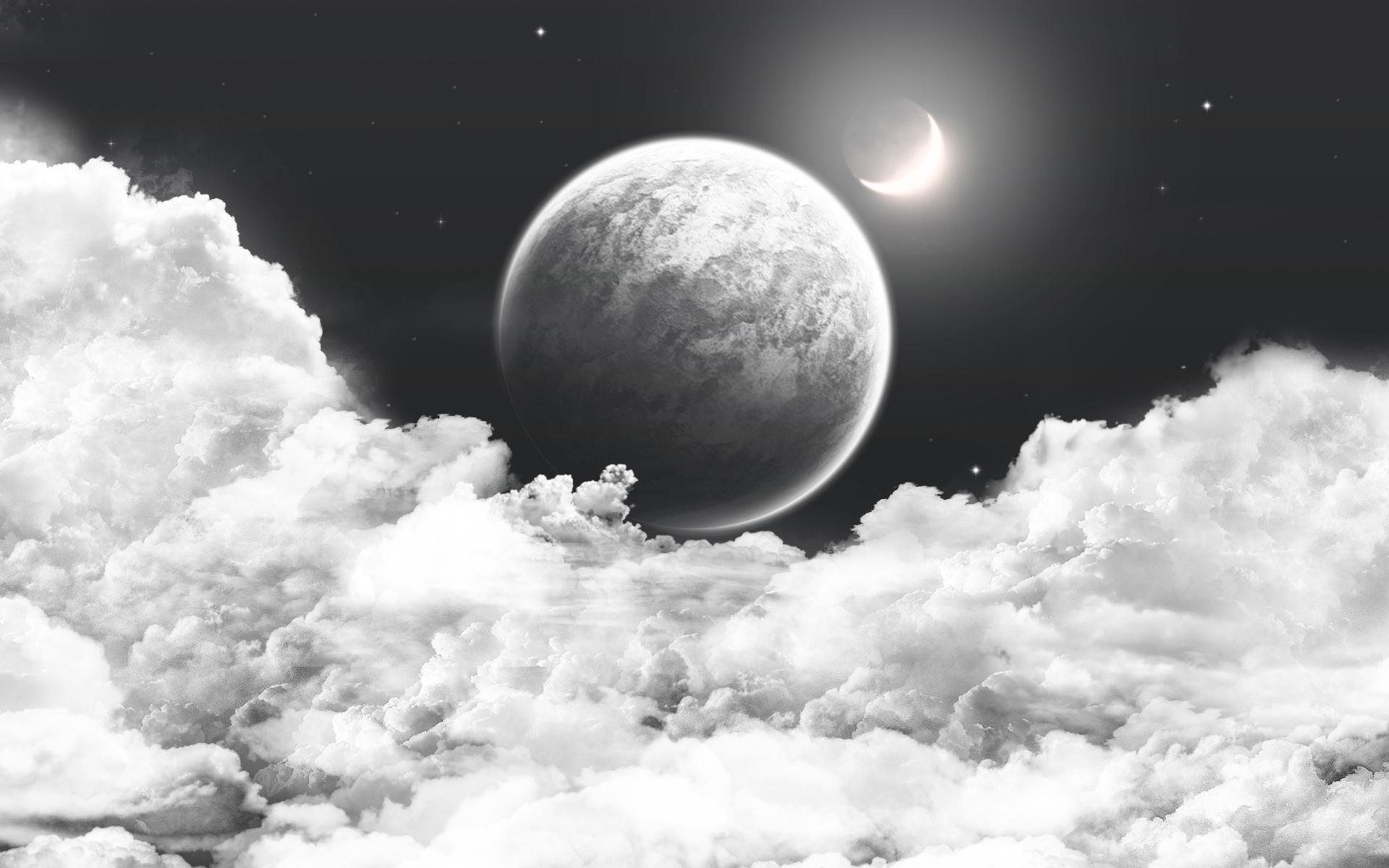 картинка серая планета только