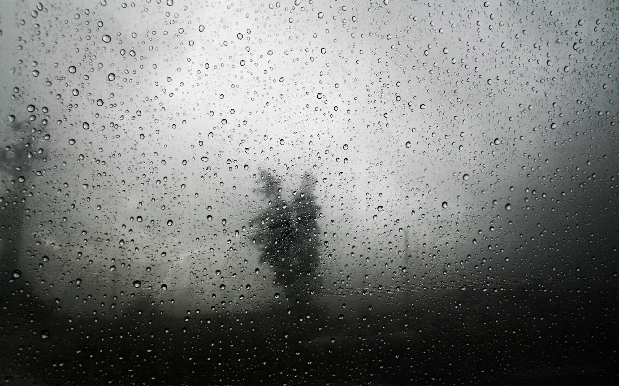 фото рабочего стола грусть дождь человек