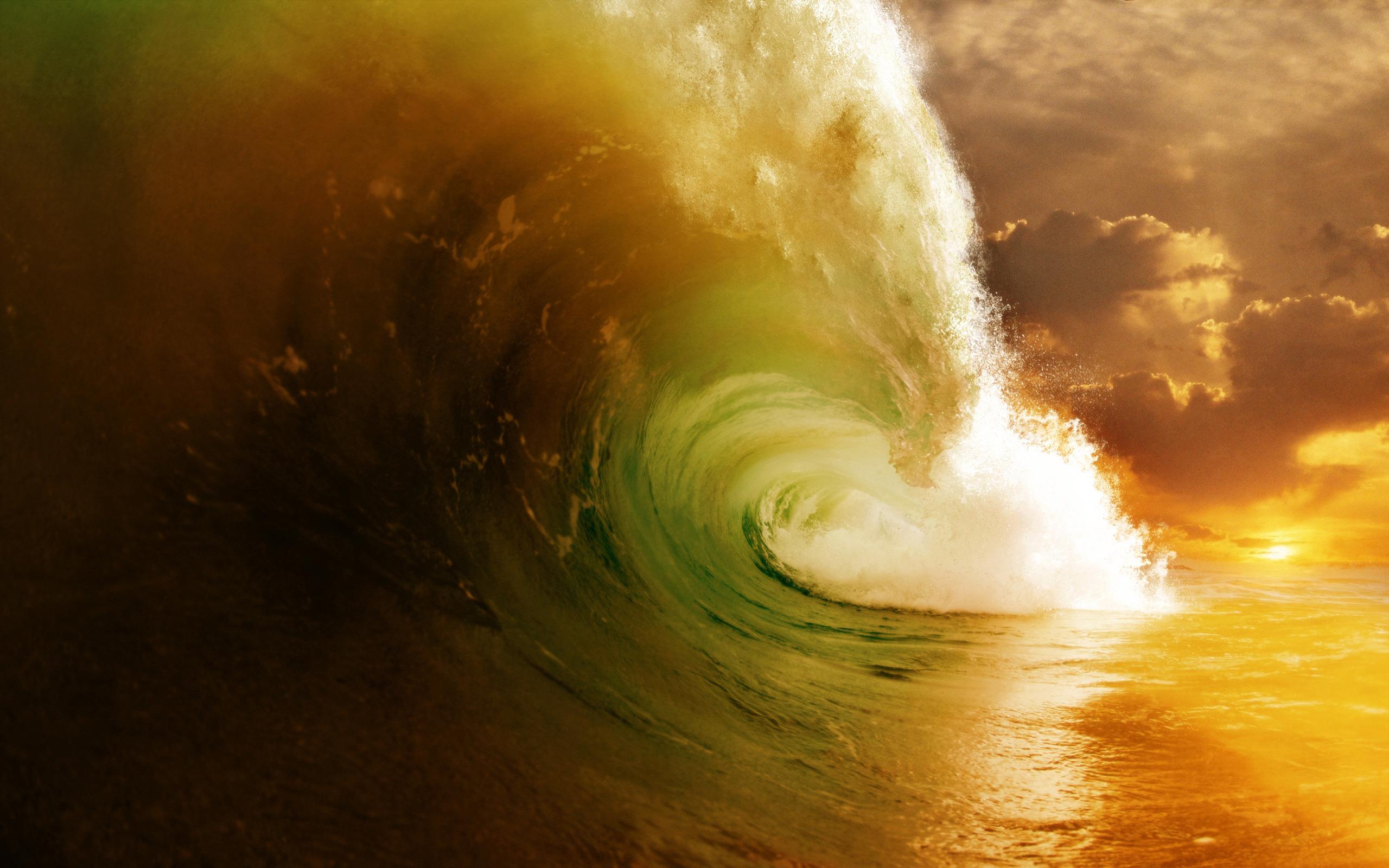 Картинки на рабочий стол красивые волны