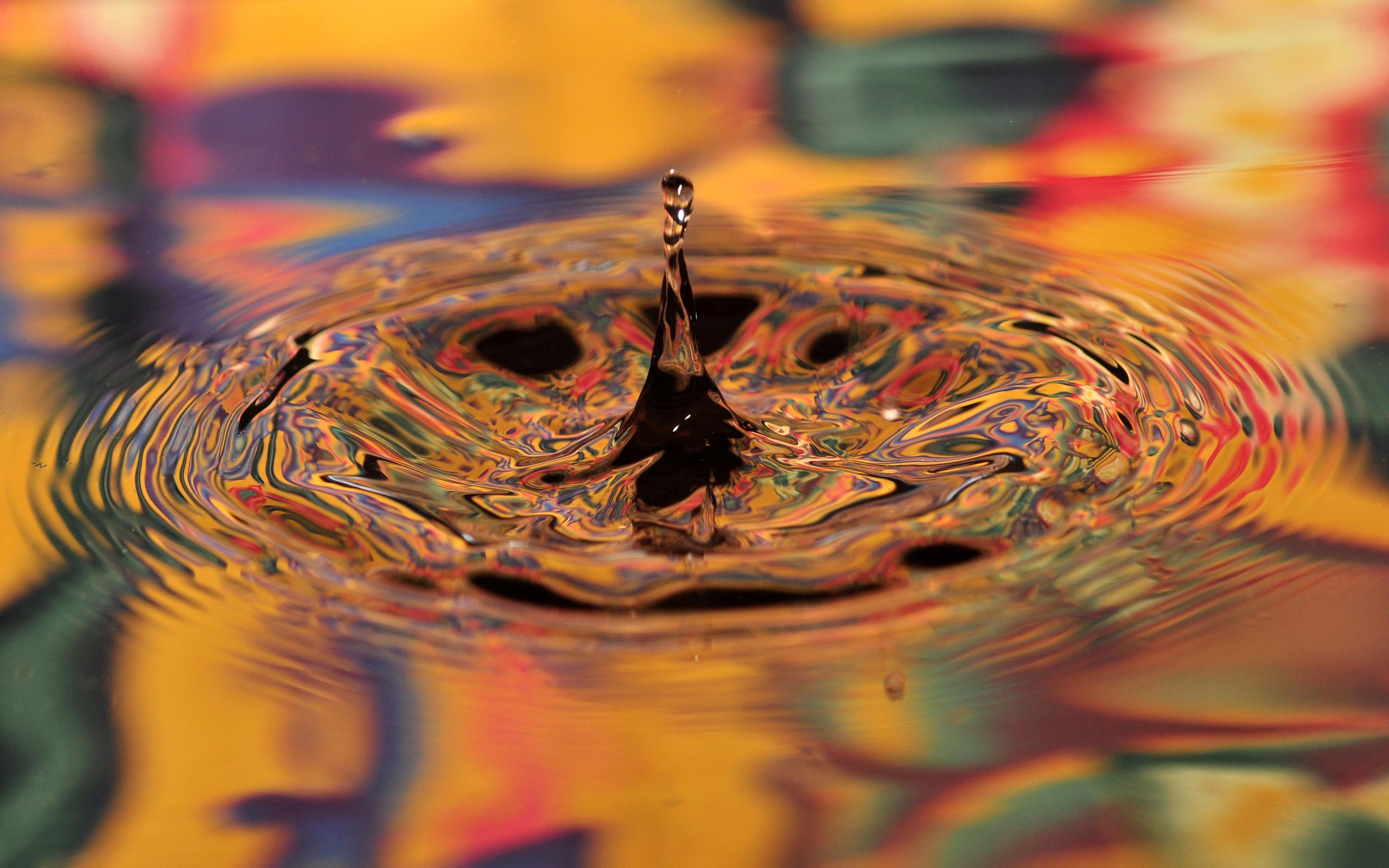 картинки цветные капли воды себя внимание вытаращенные