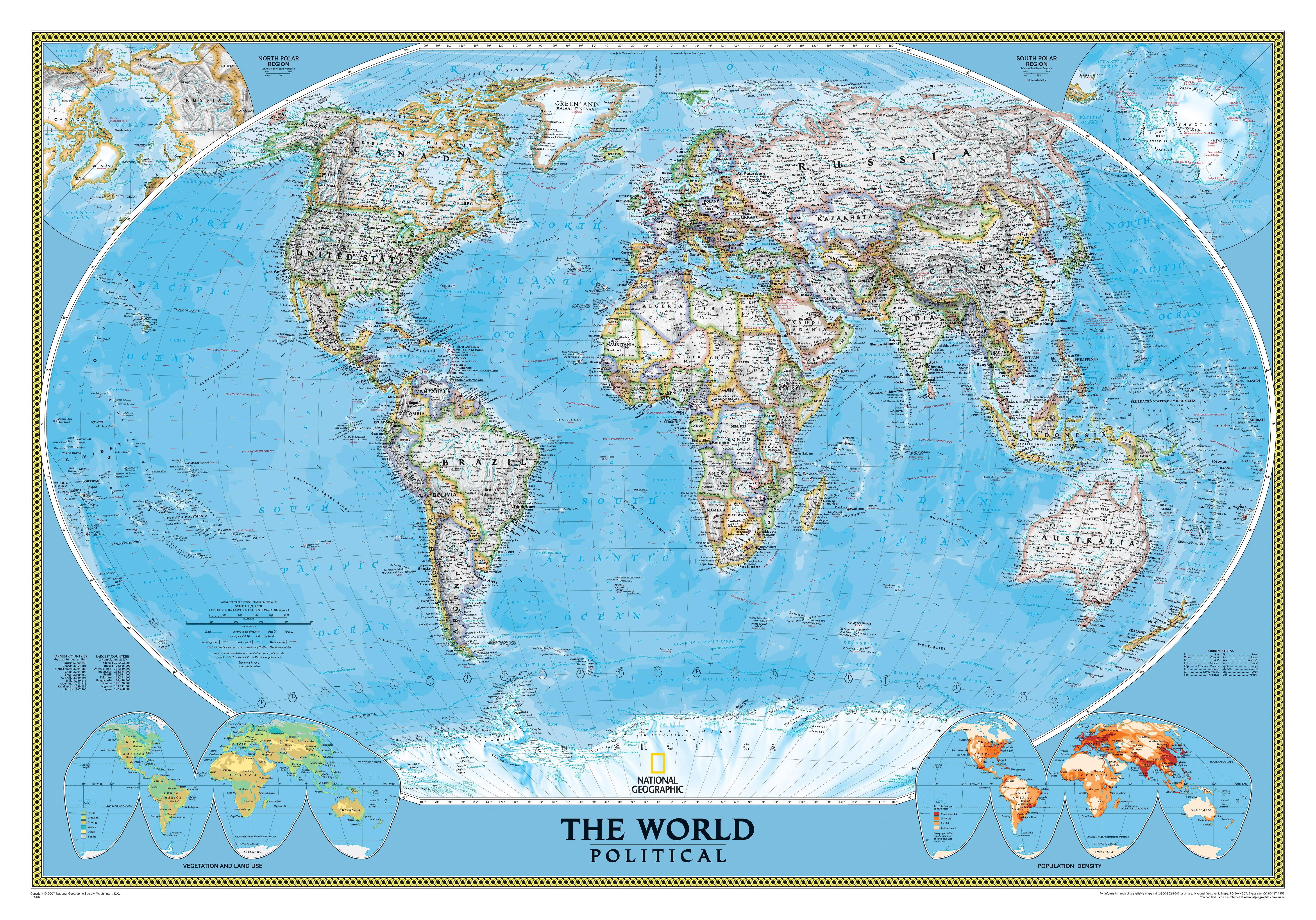 Wallpaper Vintage, The World, Map, Sepia, Old For The