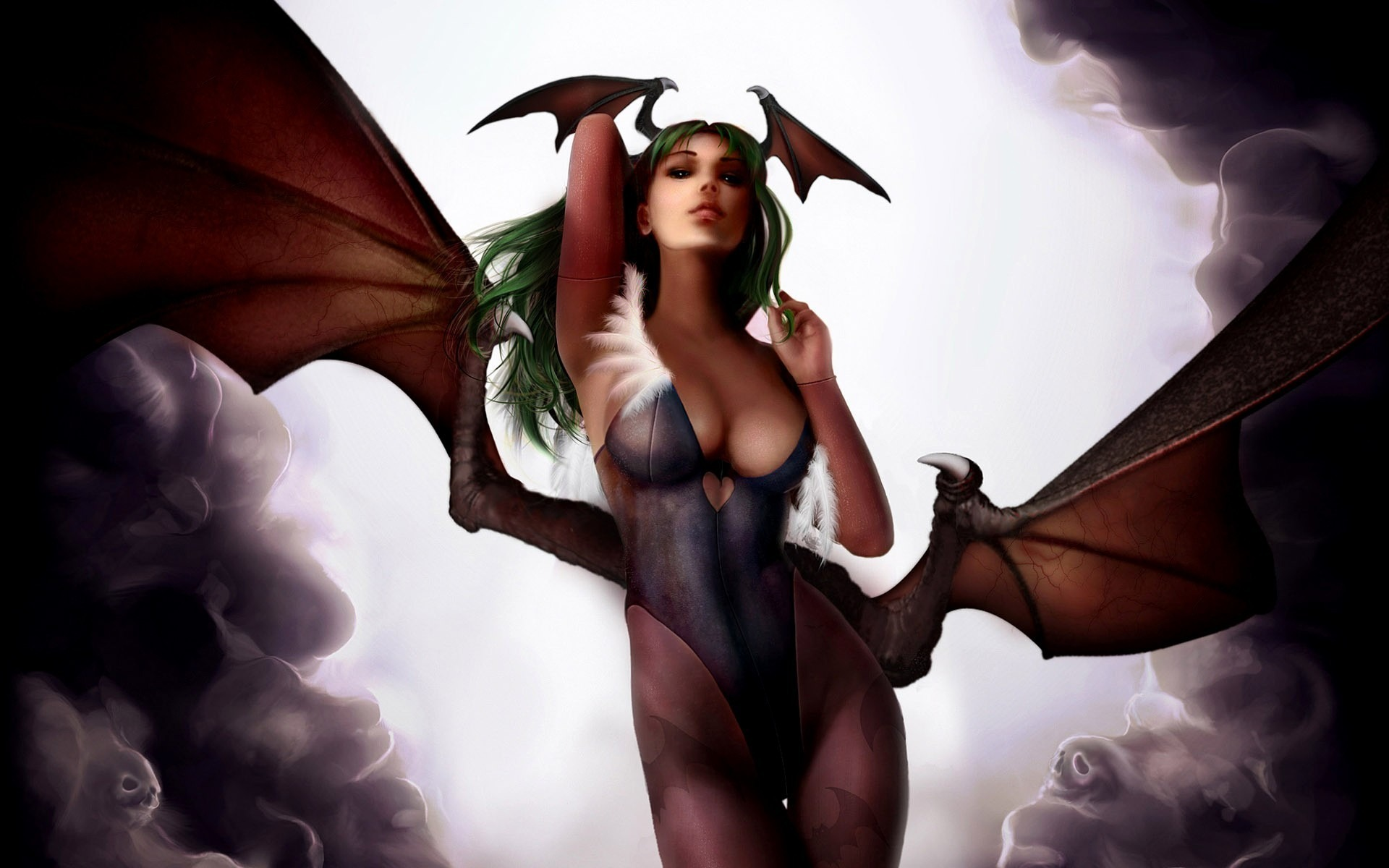 Winged succubus erotic fantasy nude videos