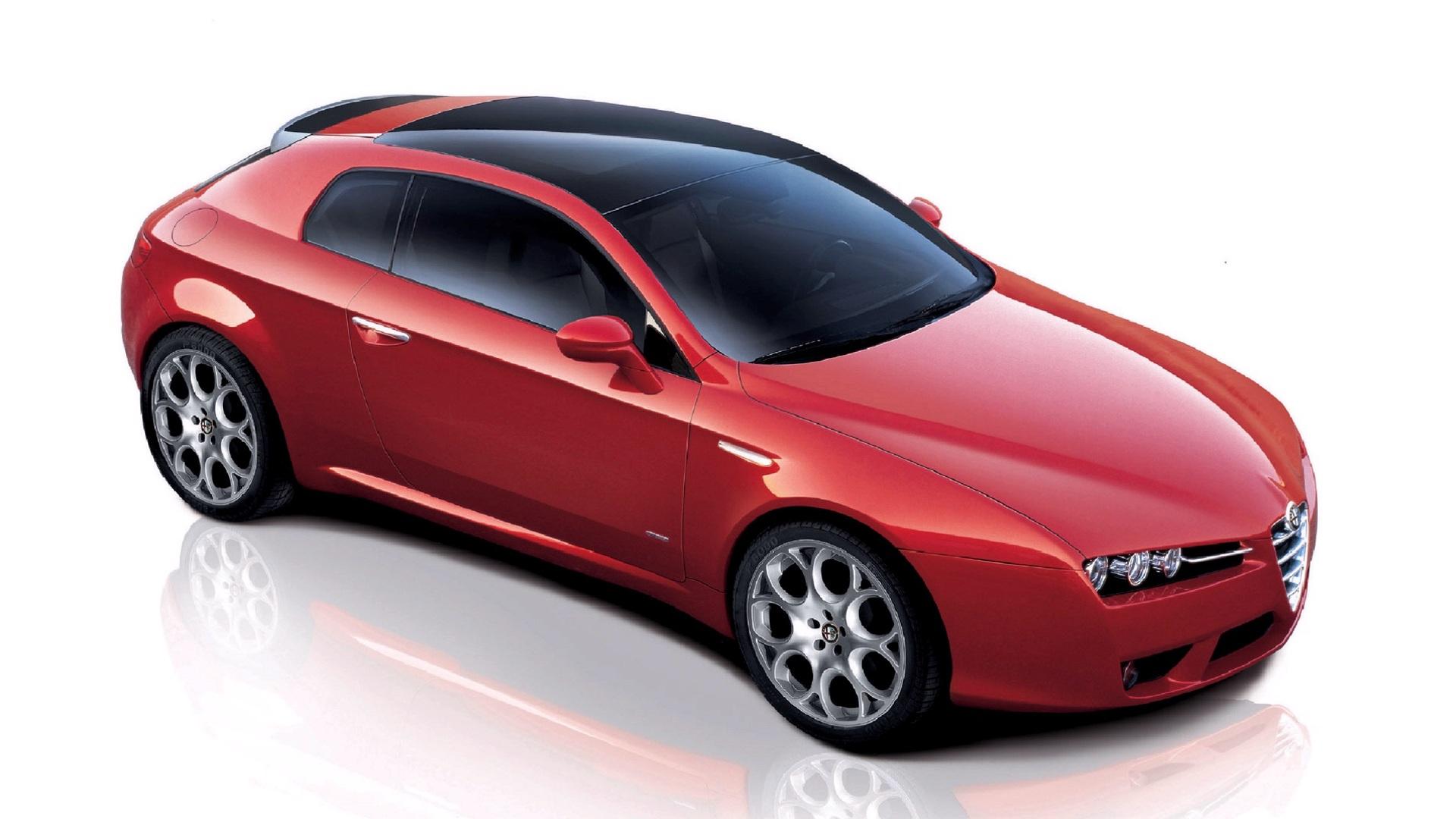Alfa Romeo Бордовая  № 2426483  скачать