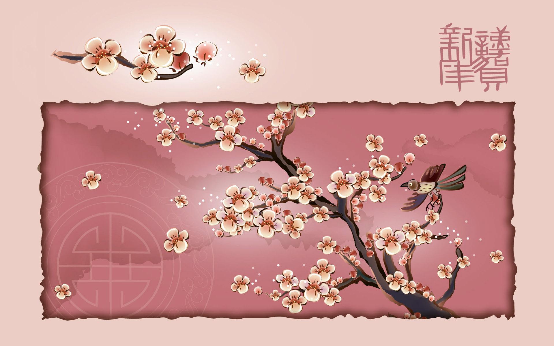 постер с изображением сакуры фото