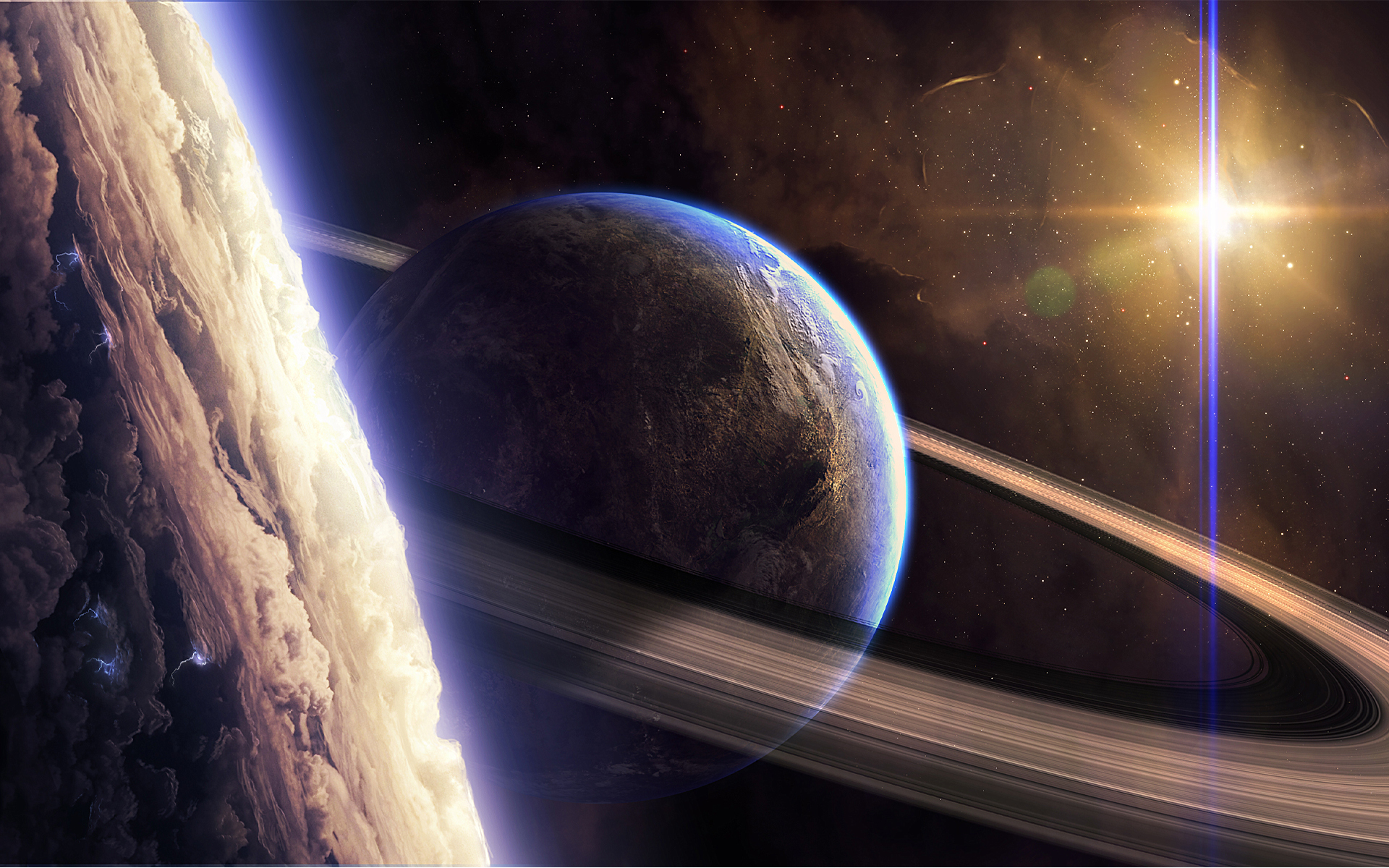 Сатурн картинки для рабочего стола