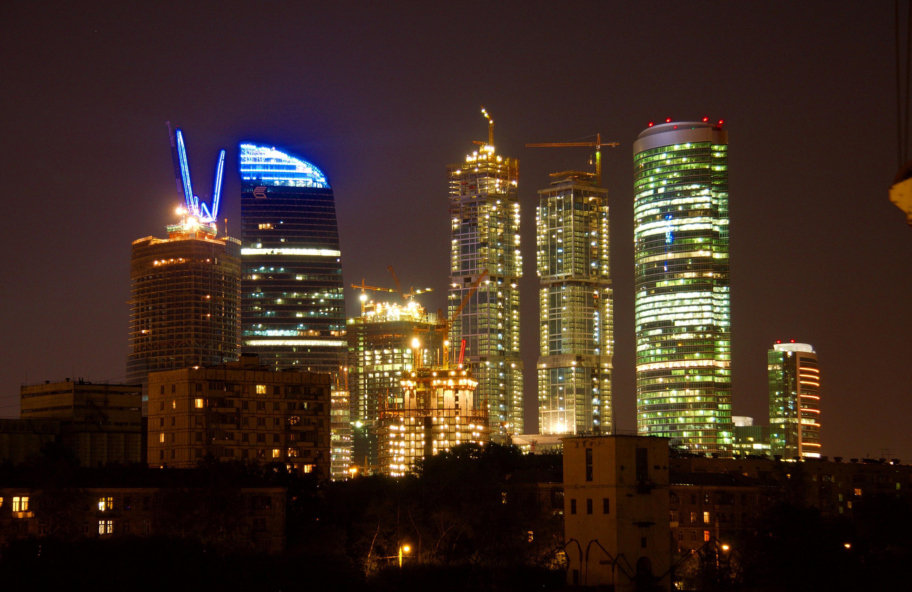 Обои москва сити, небоскребы, venitomusic. Города foto 19