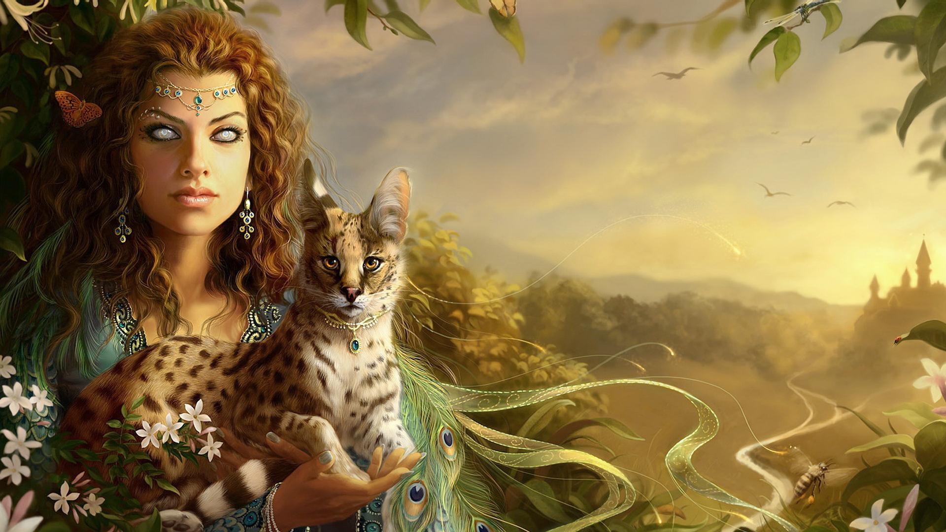 картинки эльфы и животные тренд естественность касается