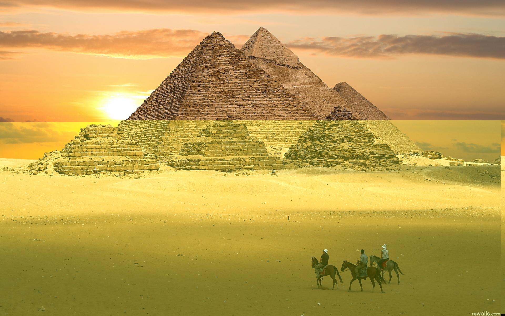 пирамида на фотообоях фото китае
