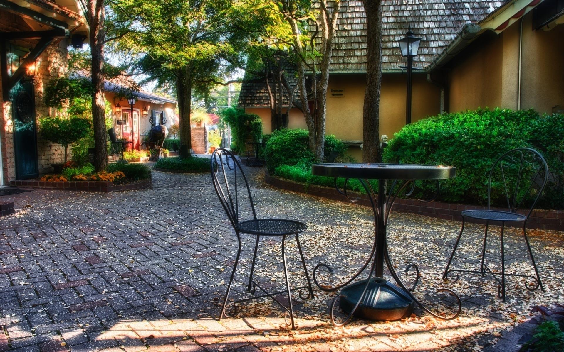 Картинки кафе дворик