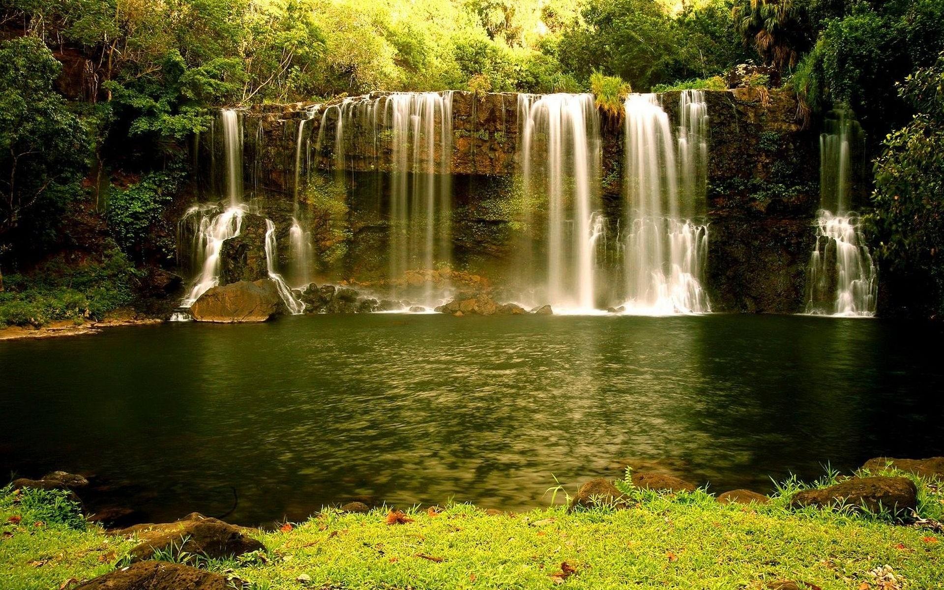 Картинки на рабочий стол красивые водопады природа