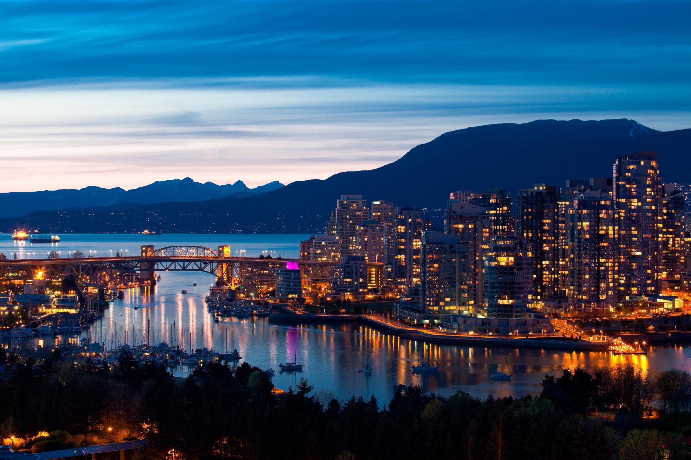Vancouver escorted tour