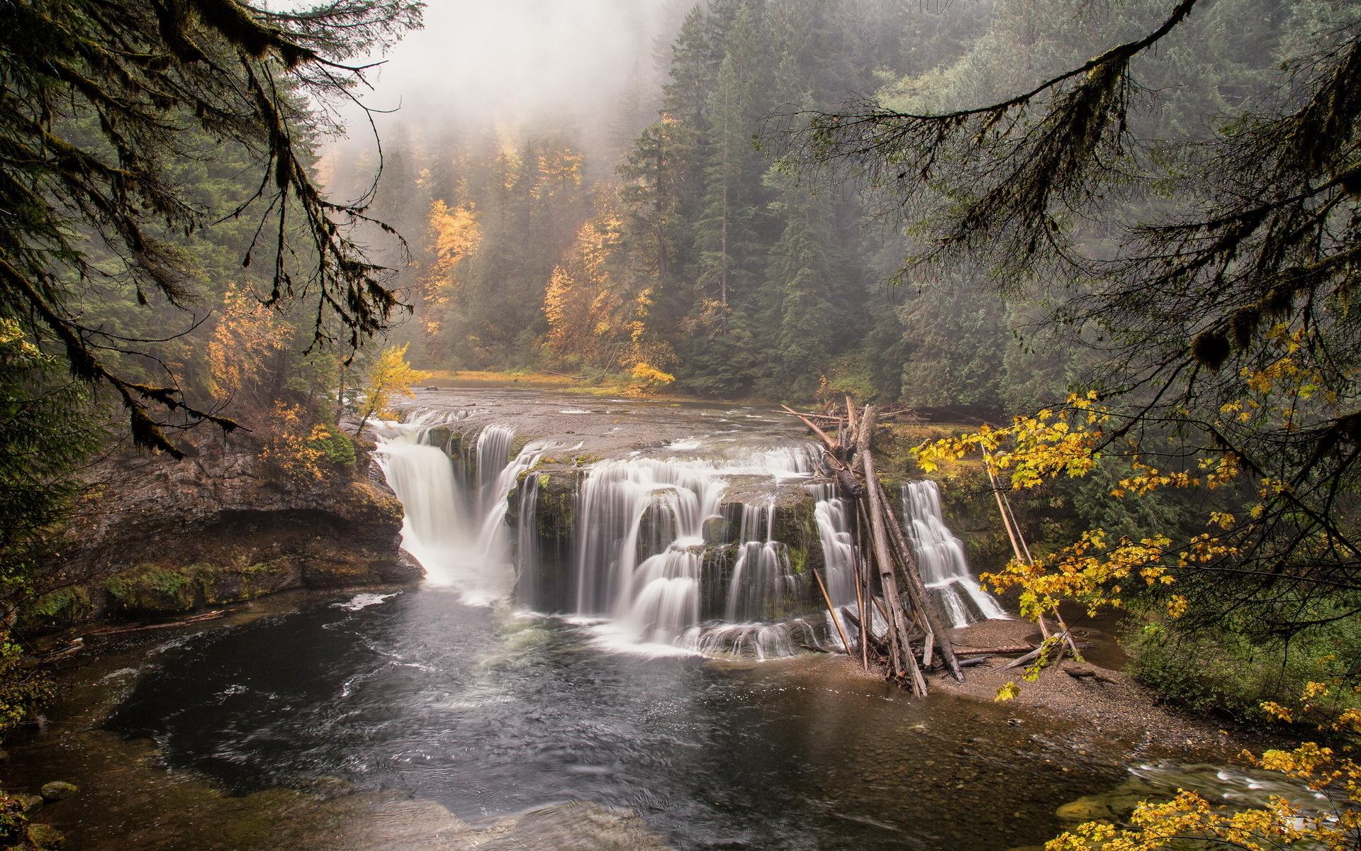 вашу картинки леса с водопадом земельный участок фундаментом