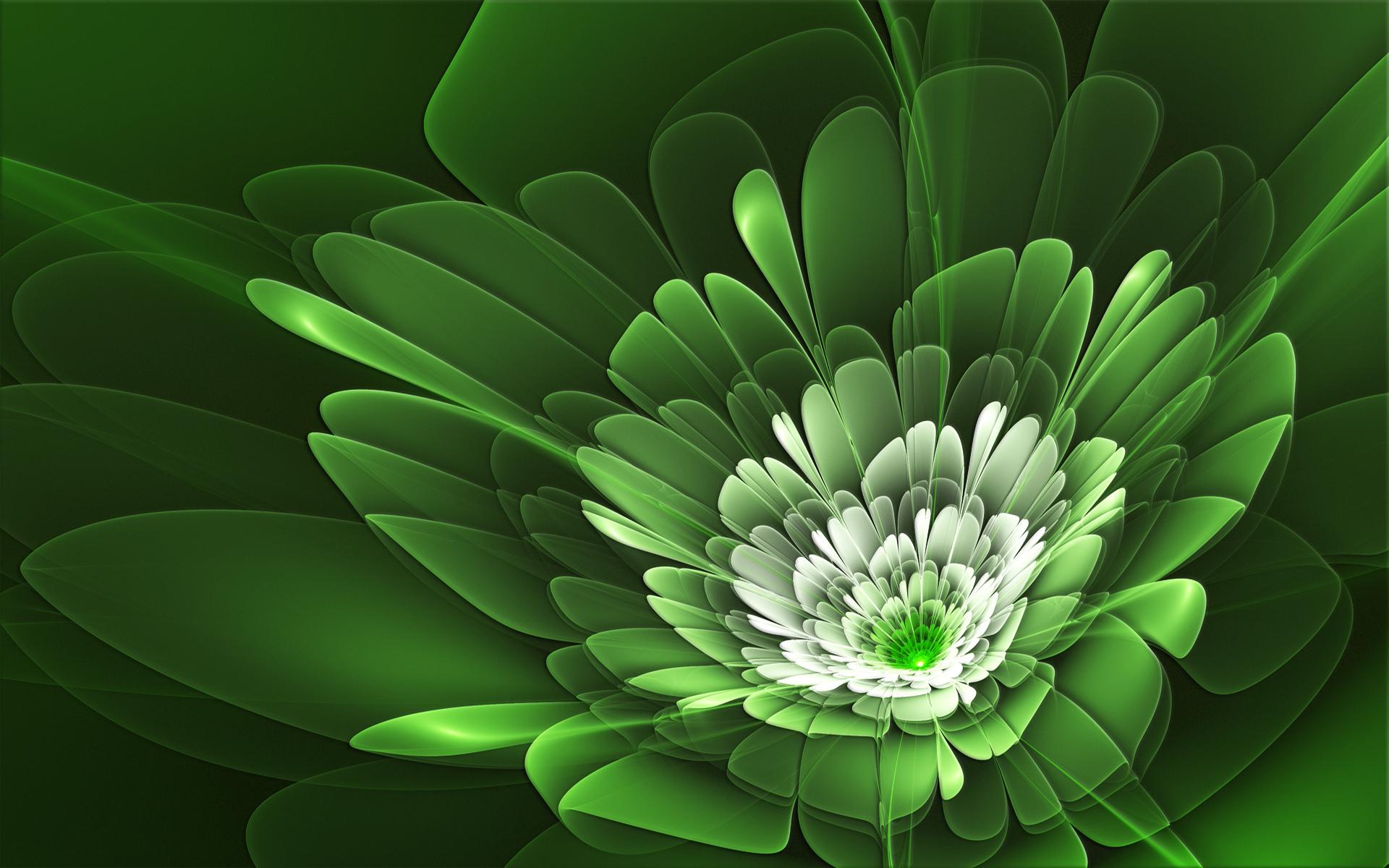 дерзкие картинки в бело зеленых тонах можно