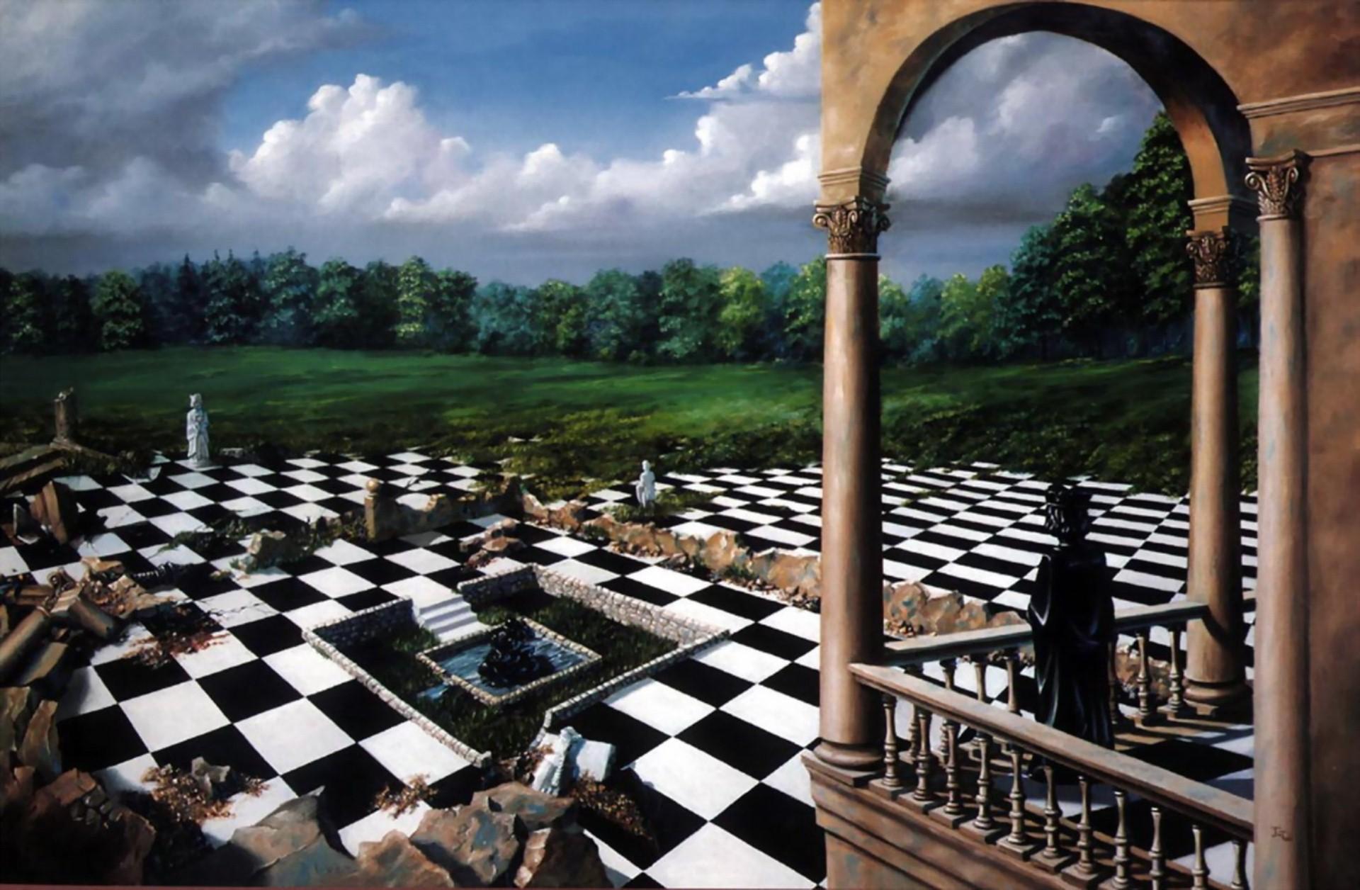 после шахматы из алисы в стране чудес картинка вращается