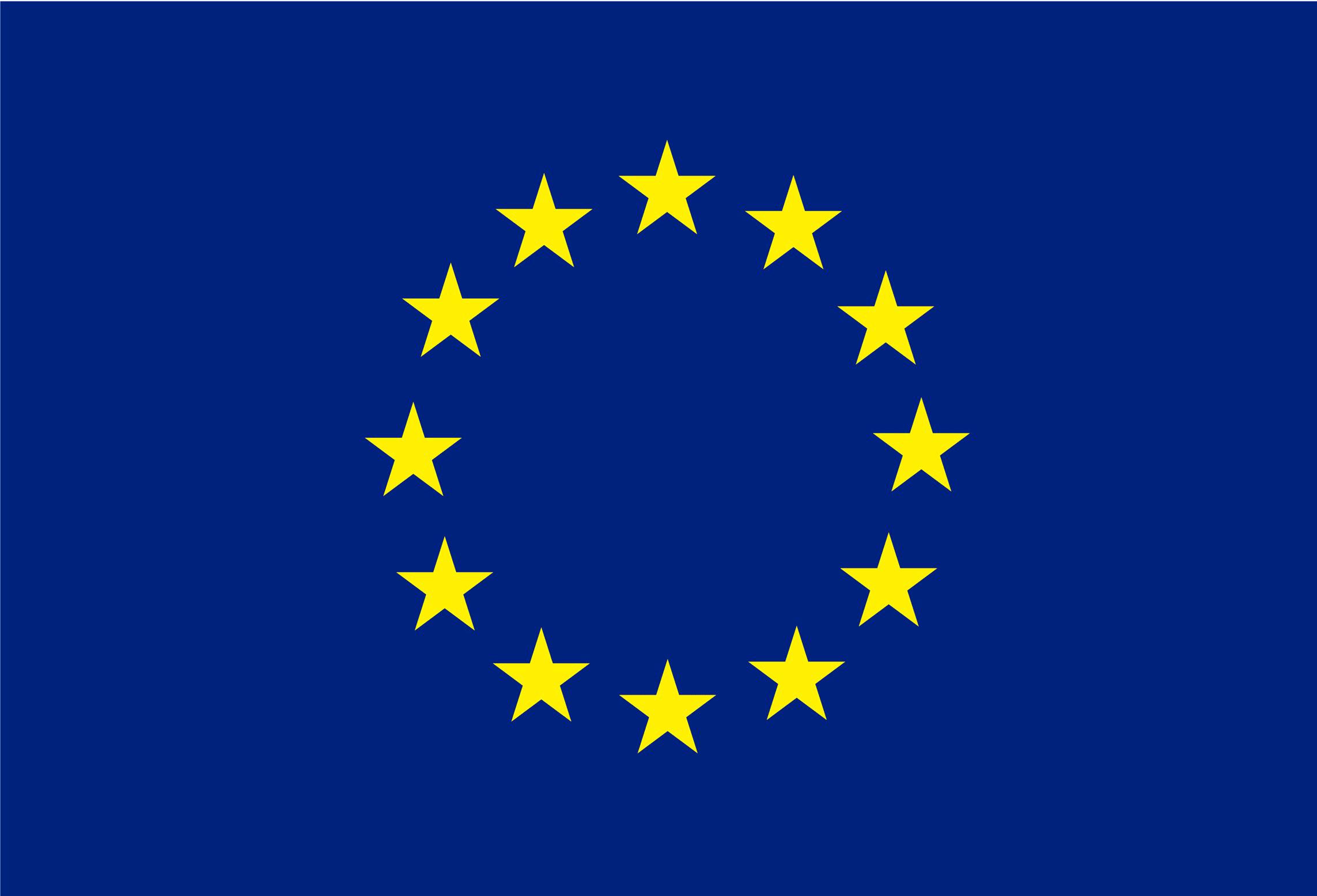 обои для рабочего стола флаг евросоюза № 389604  скачать