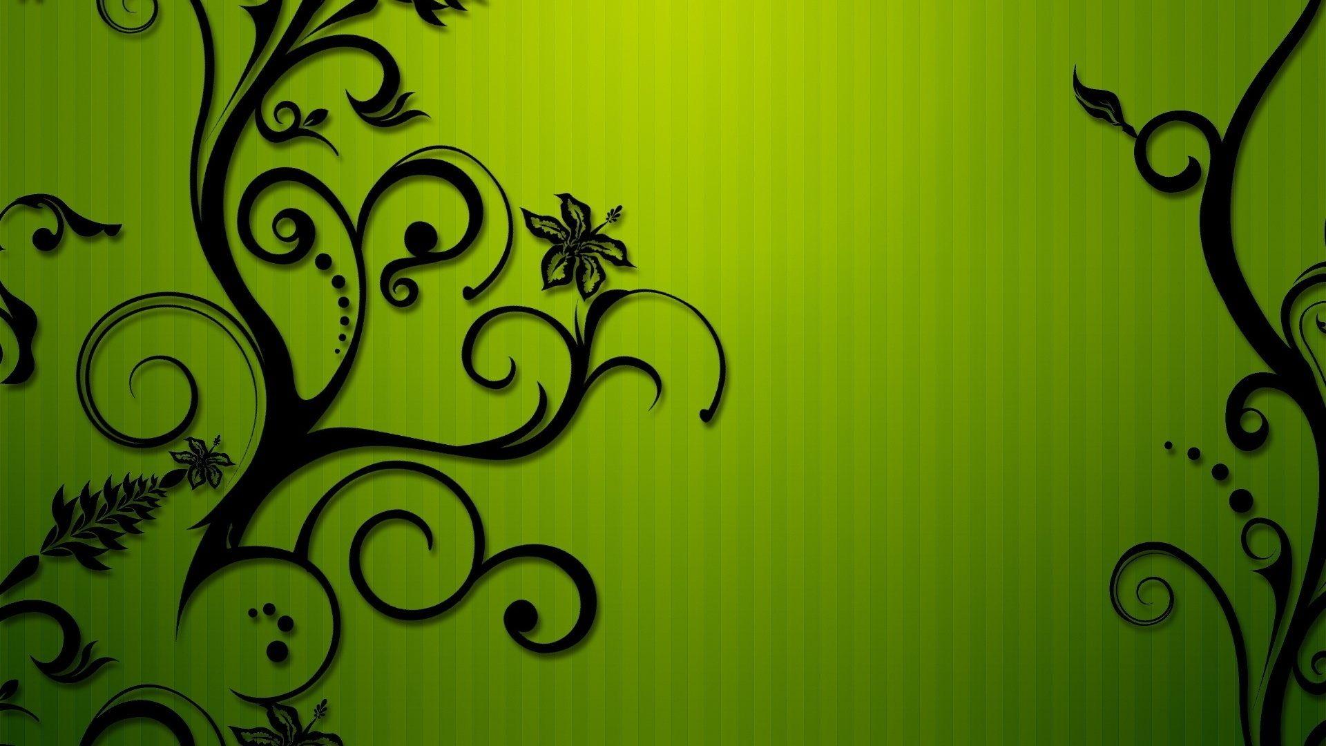 картинки с узорами зеленый цвет вторым освещением чаще