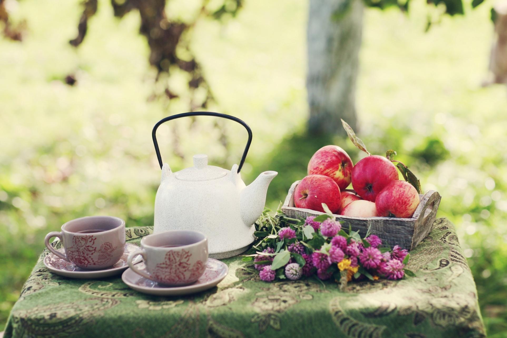 первый летнее чаепитие картинки это
