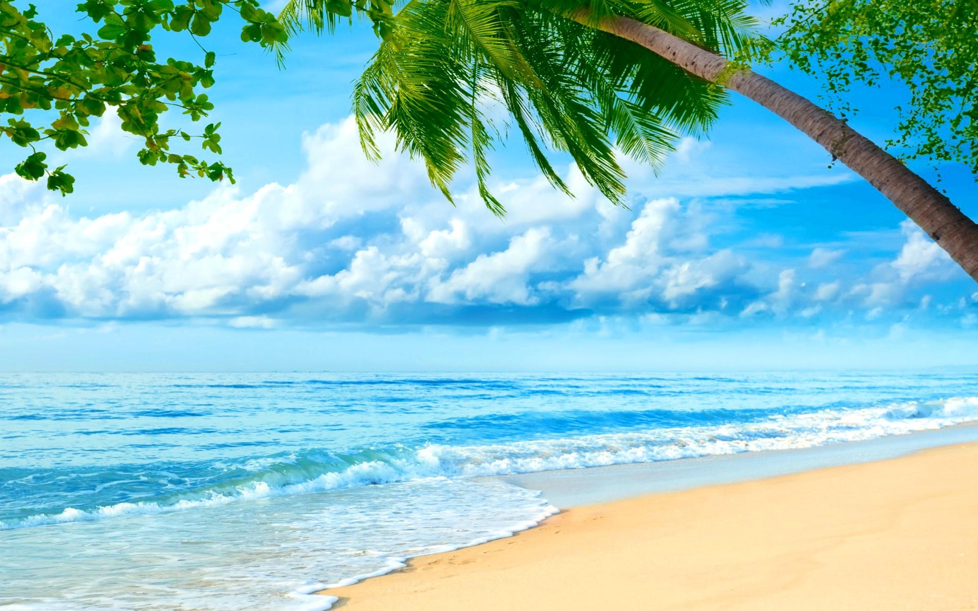 Картинки на фон море пляж