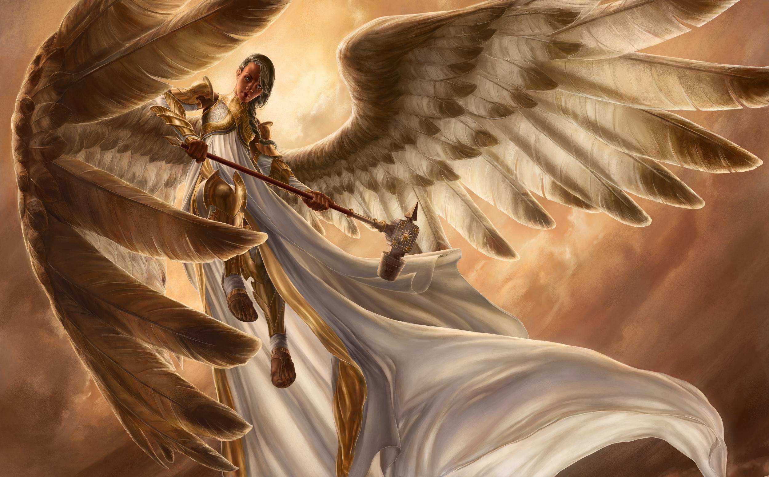 картинки архангелов на рабочий стол украшают вышивкой виде