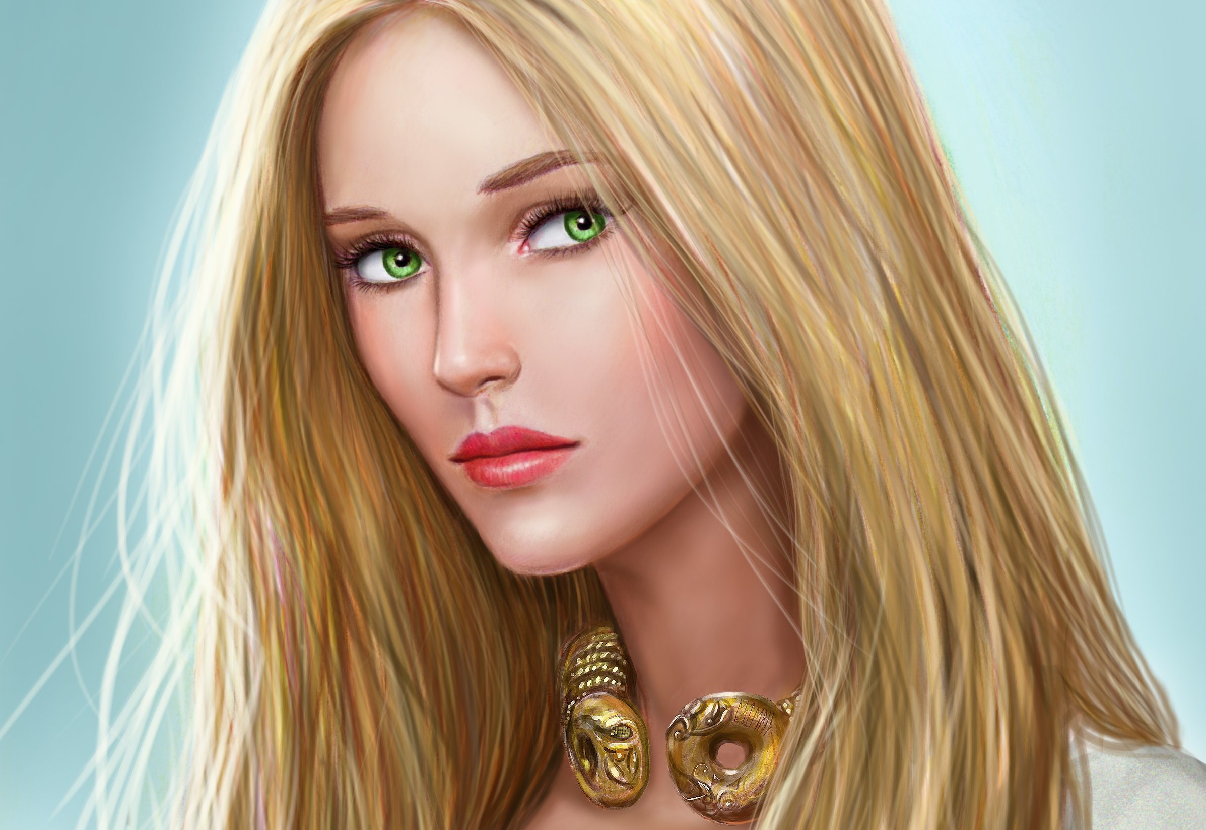 Картинки мультяшки с зелеными глазами