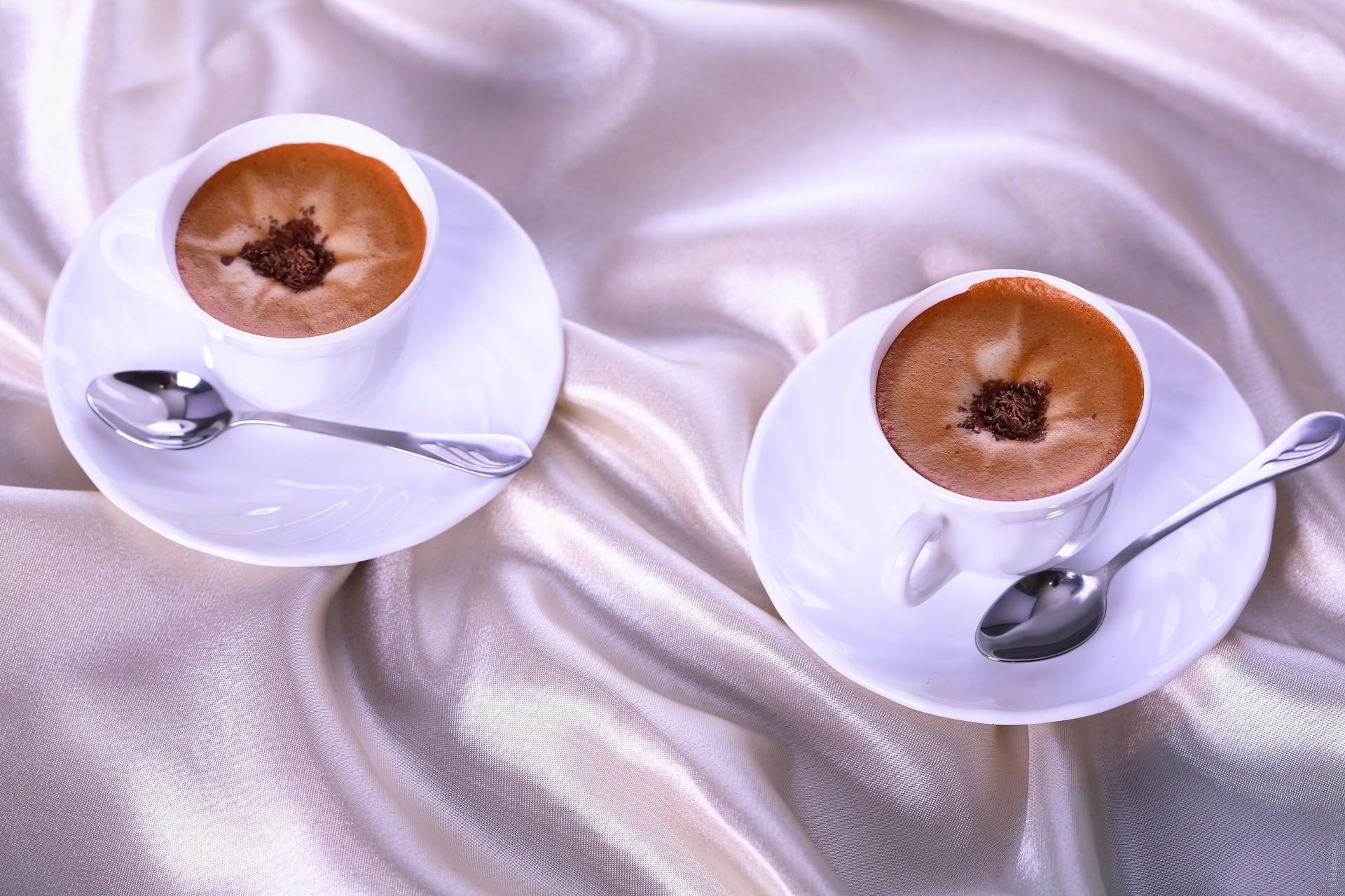 Фото кофе для двоих