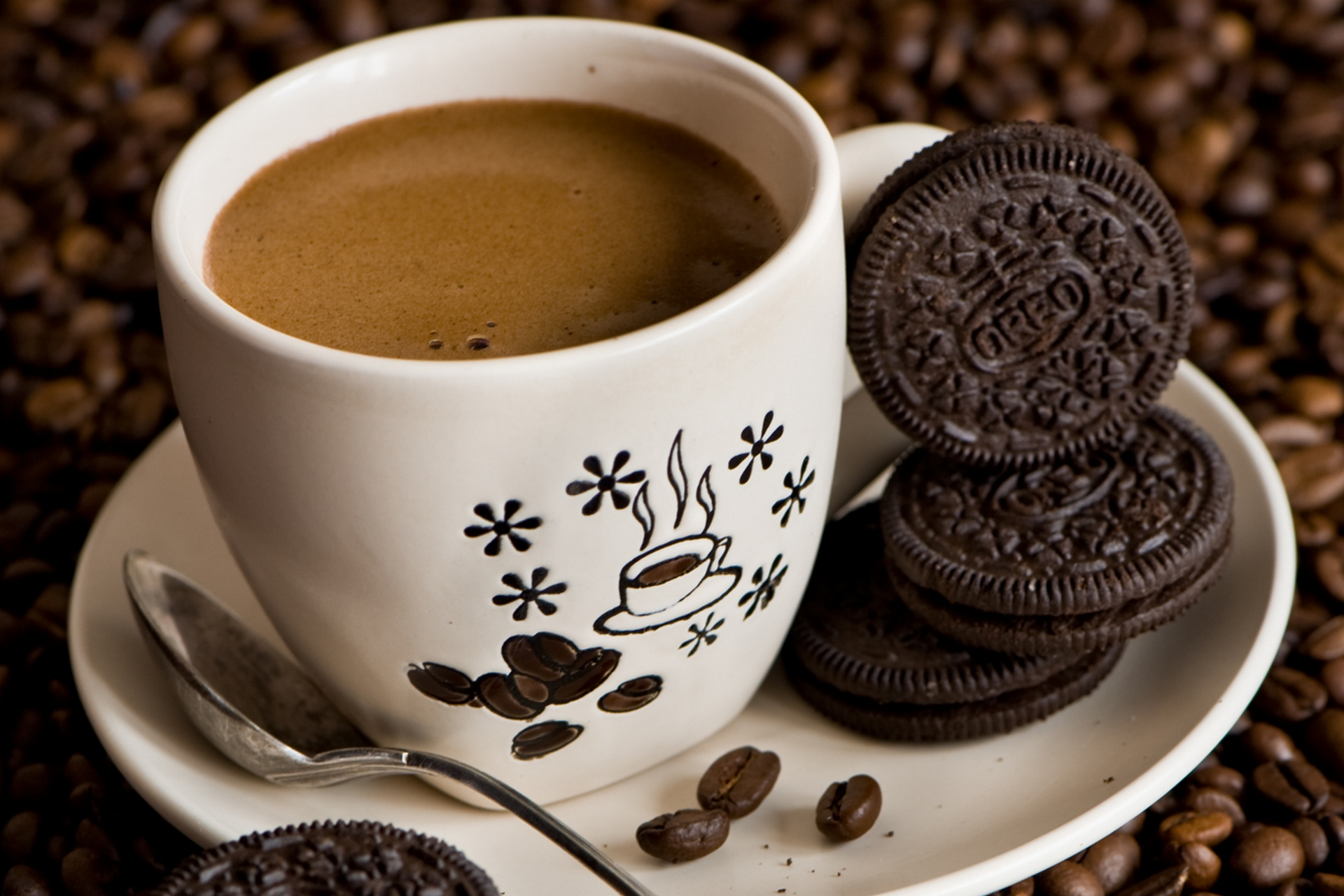 звоните, чашечка ароматного кофе картинки назвала