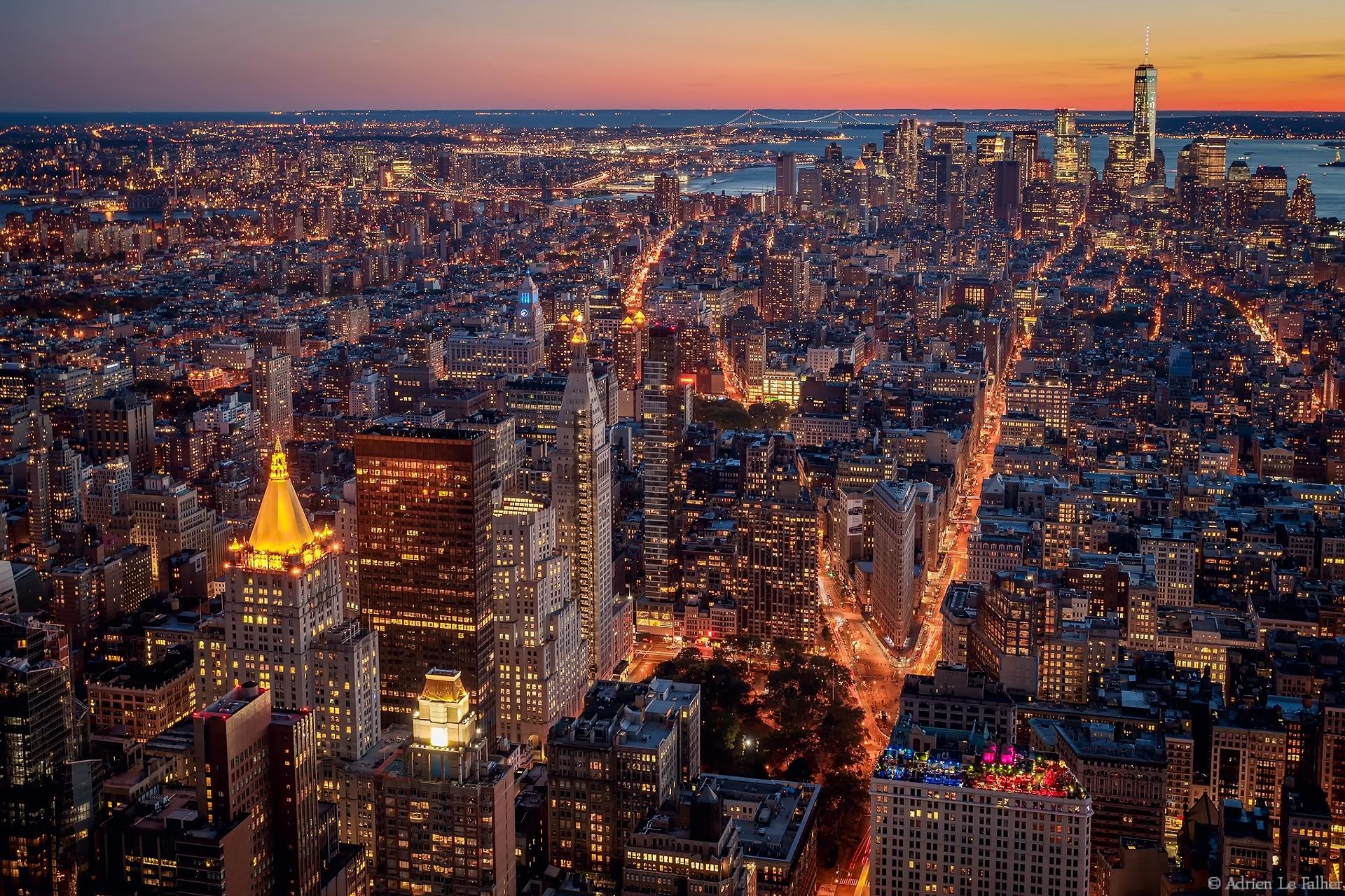 Нью-йорк с картинками