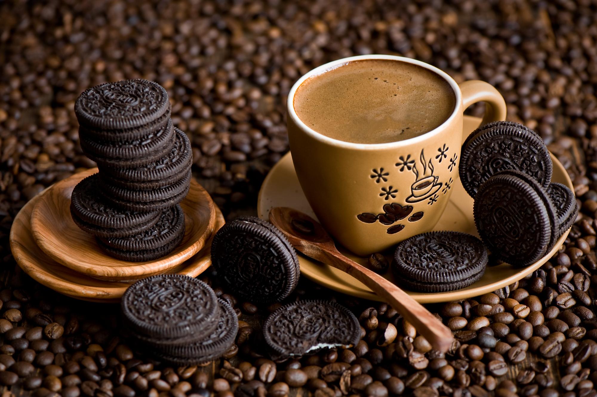 картинки кофе и шоколад фон маски