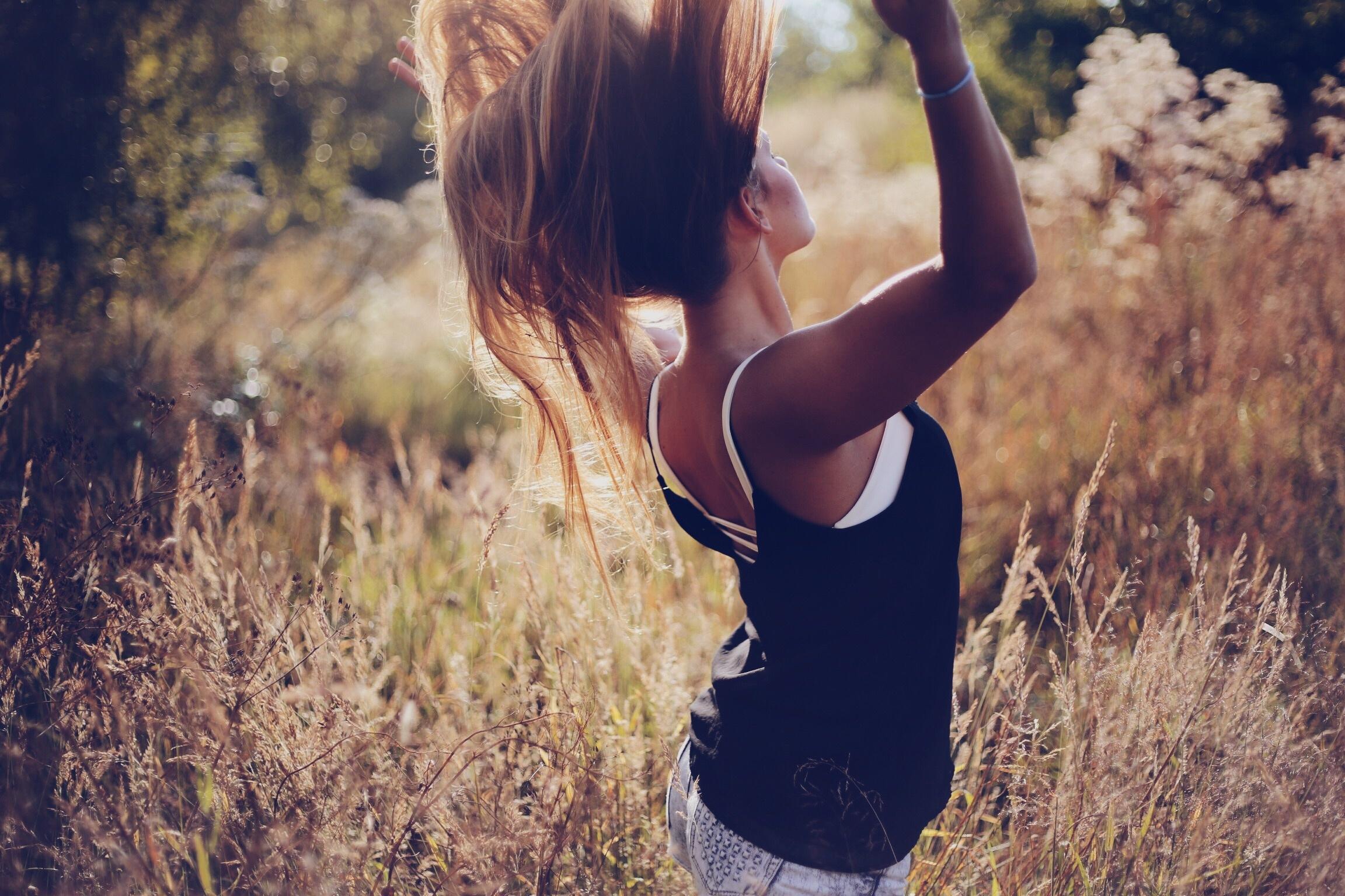 Картинки девушка со спины классные
