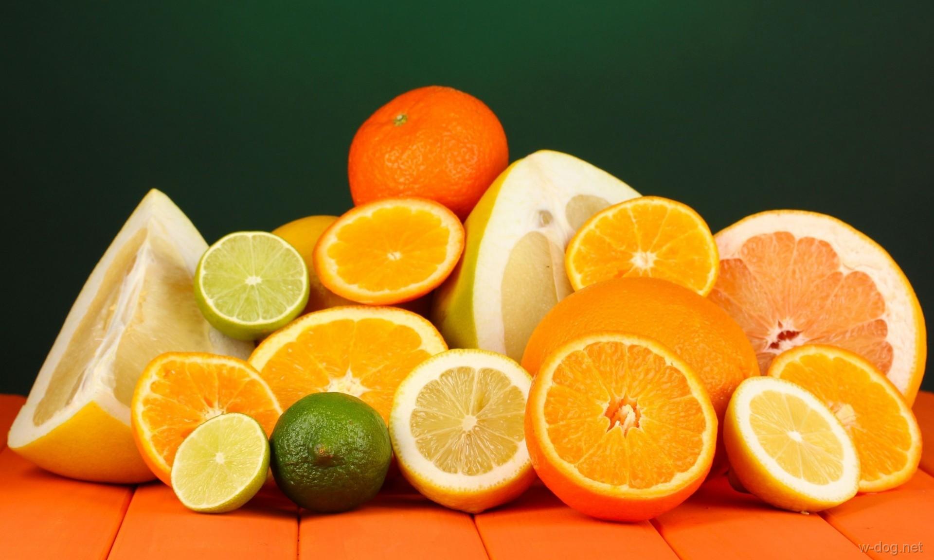 Обои для рабочего стола апельсин фрукты