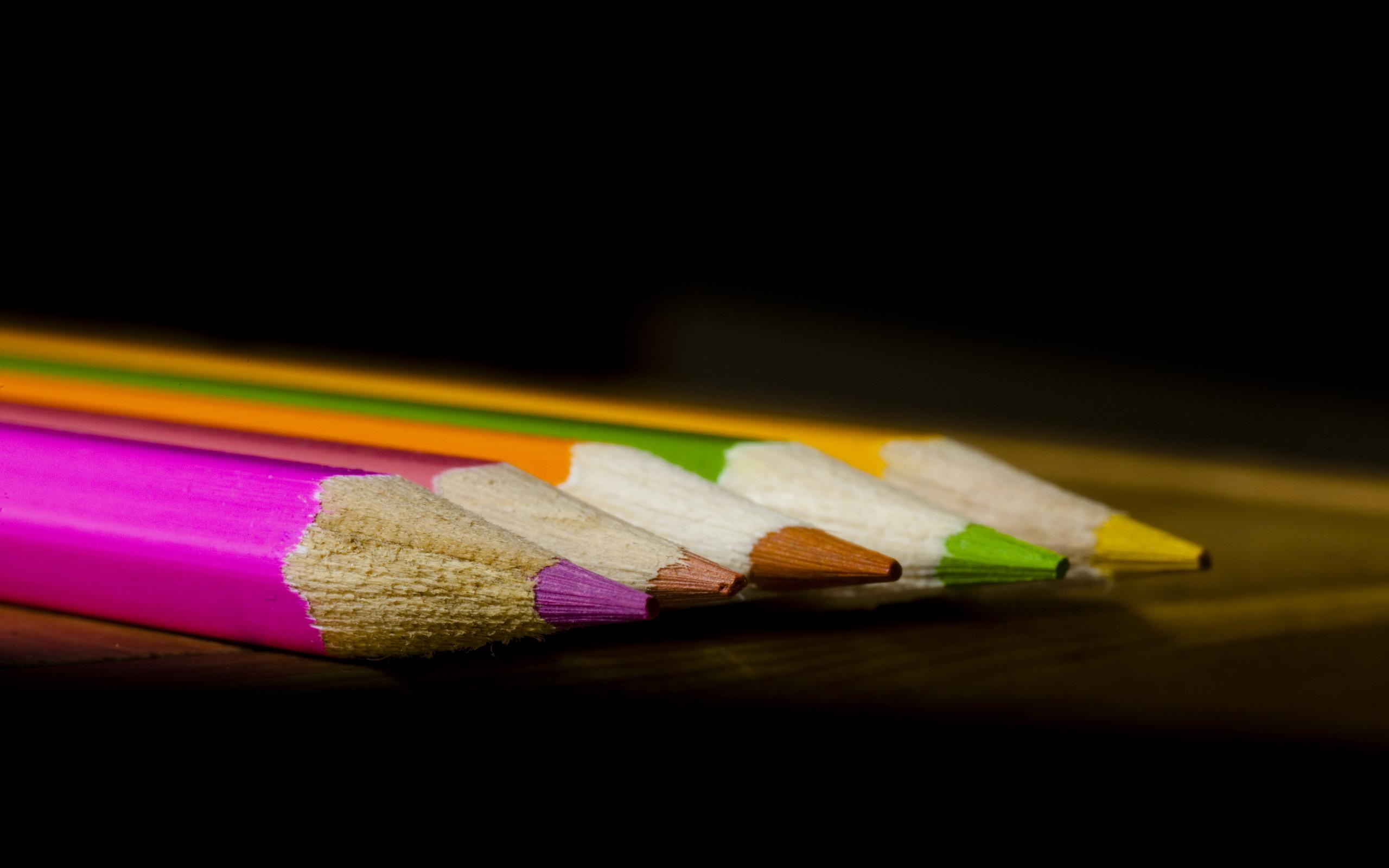 Цветной карандаш обои на рабочий стол