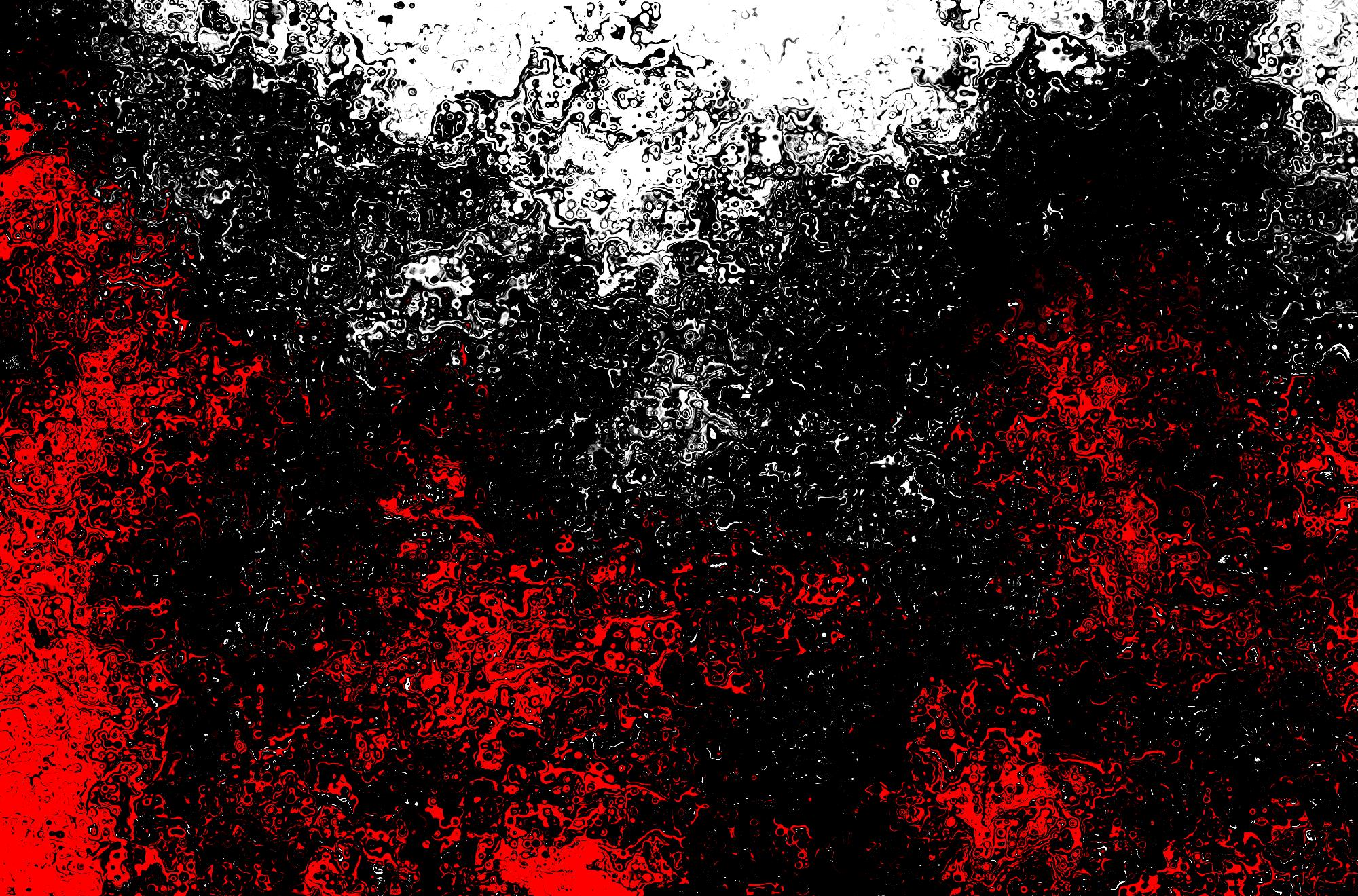 Красно черный эффект фоток