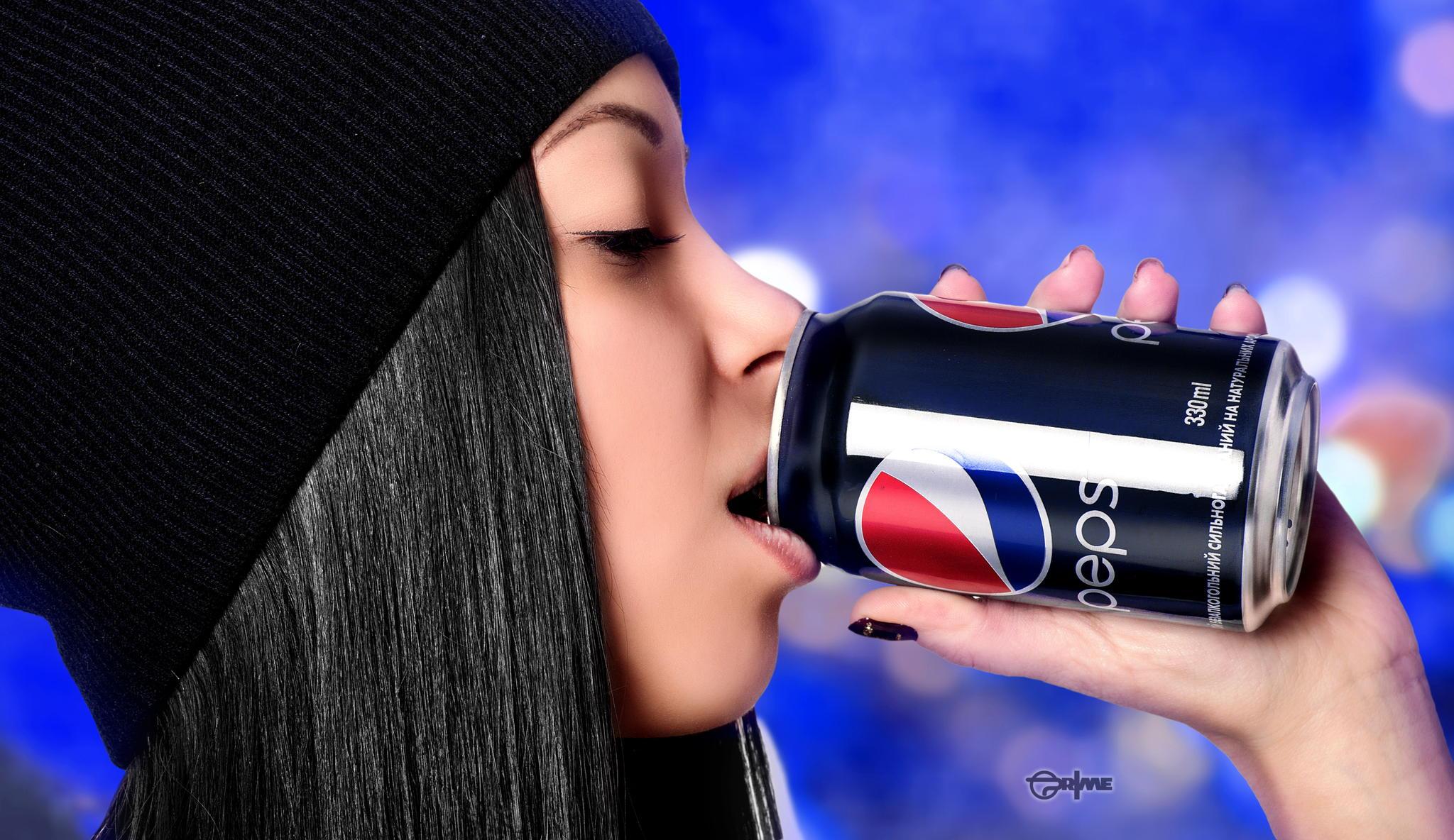 пепси картинка на прическе фона