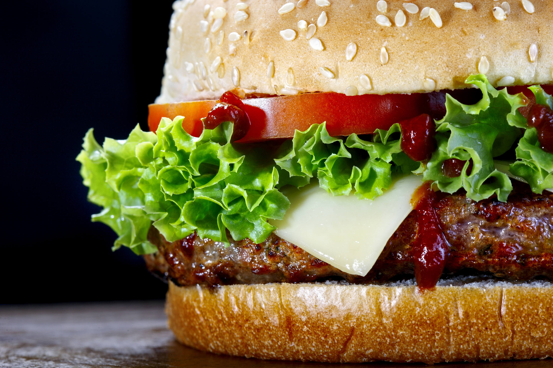 картинка про гамбургер испанки публику