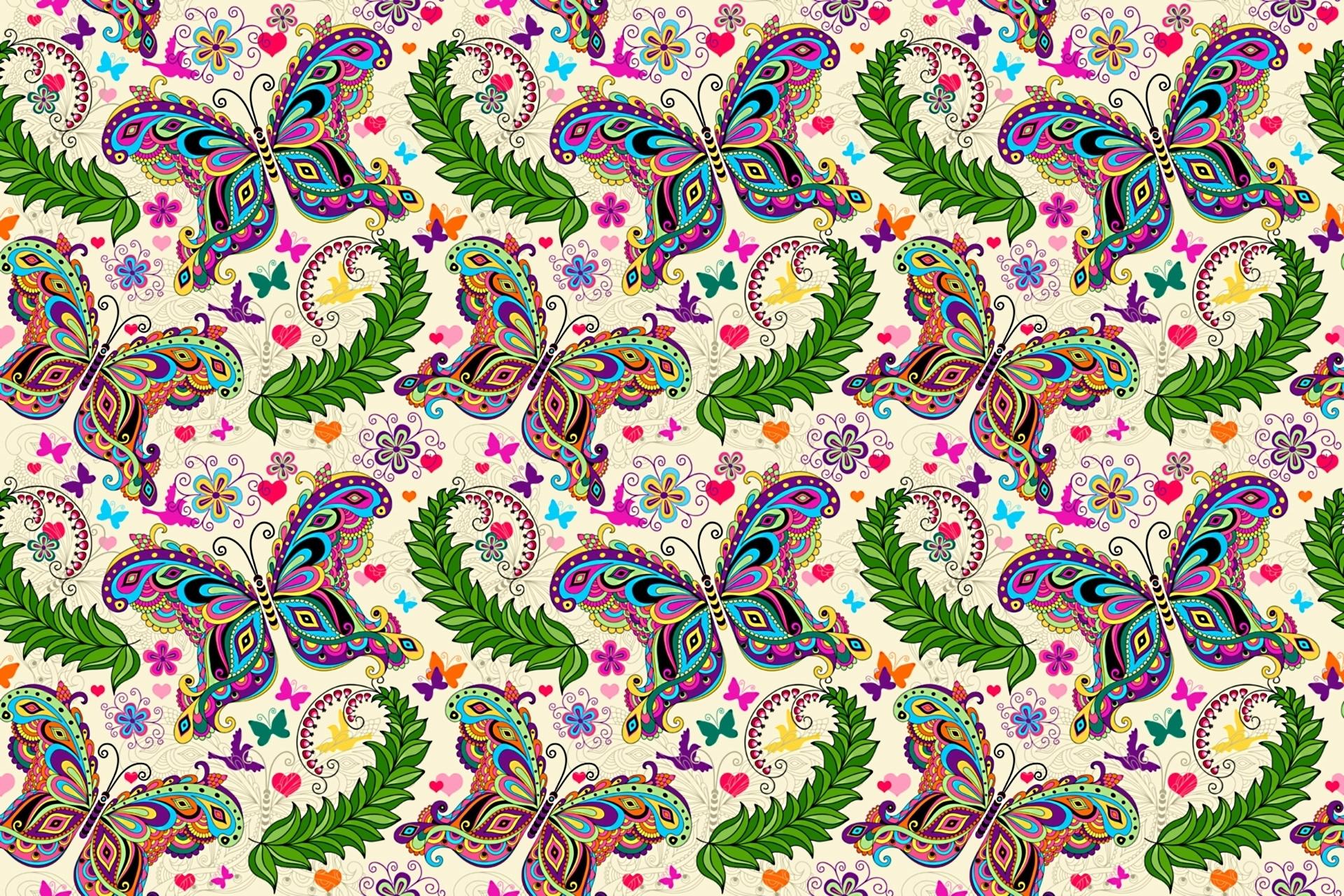 Цветные узорчатые картинки