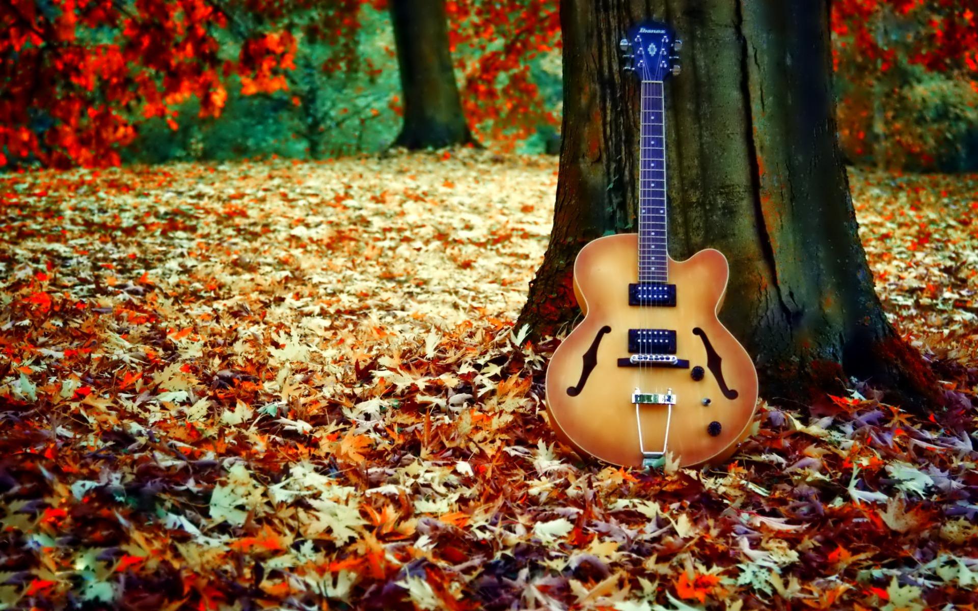 Картинки осень музыкальные