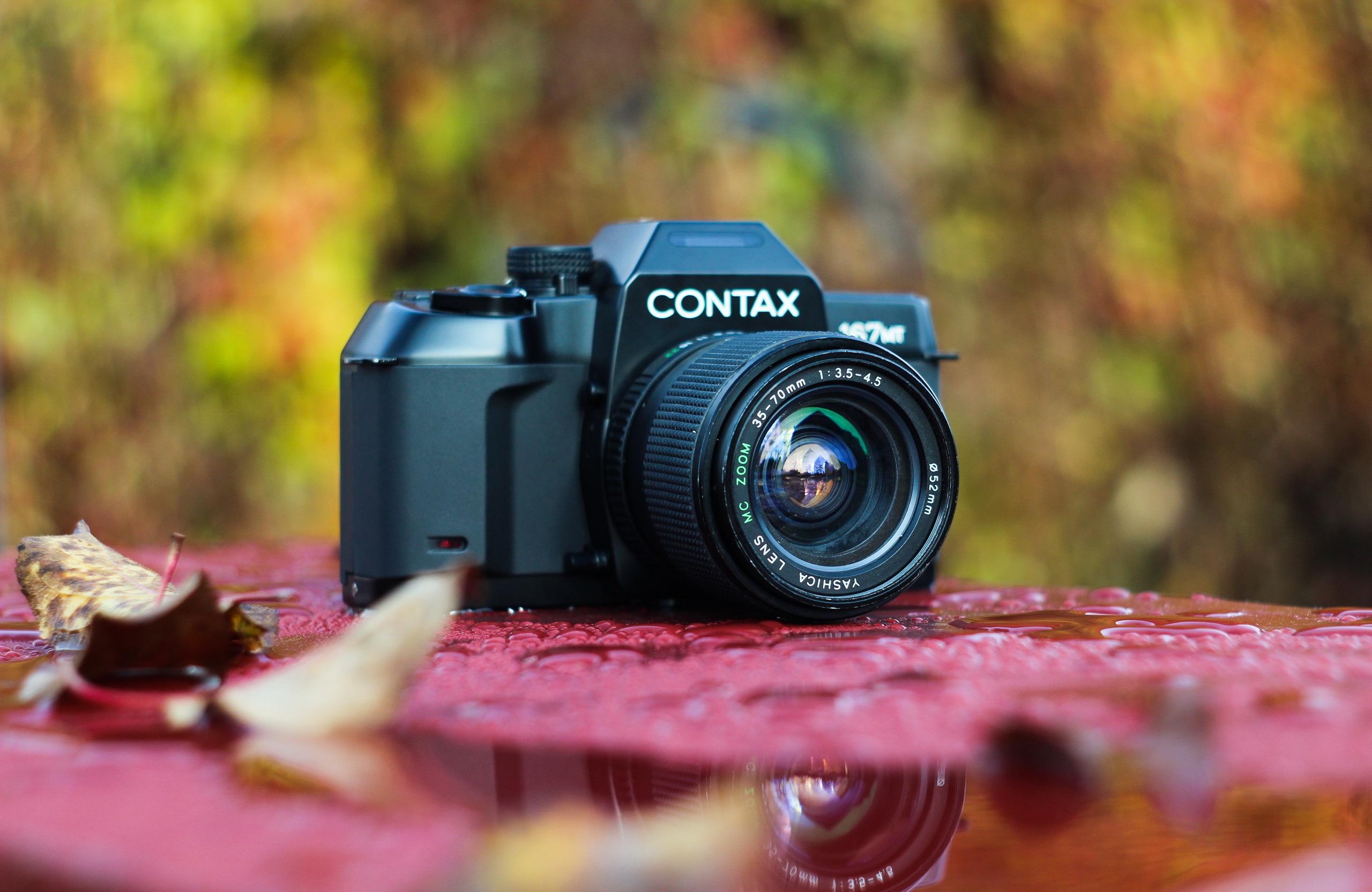 фотоаппарат для размытого фона открыт