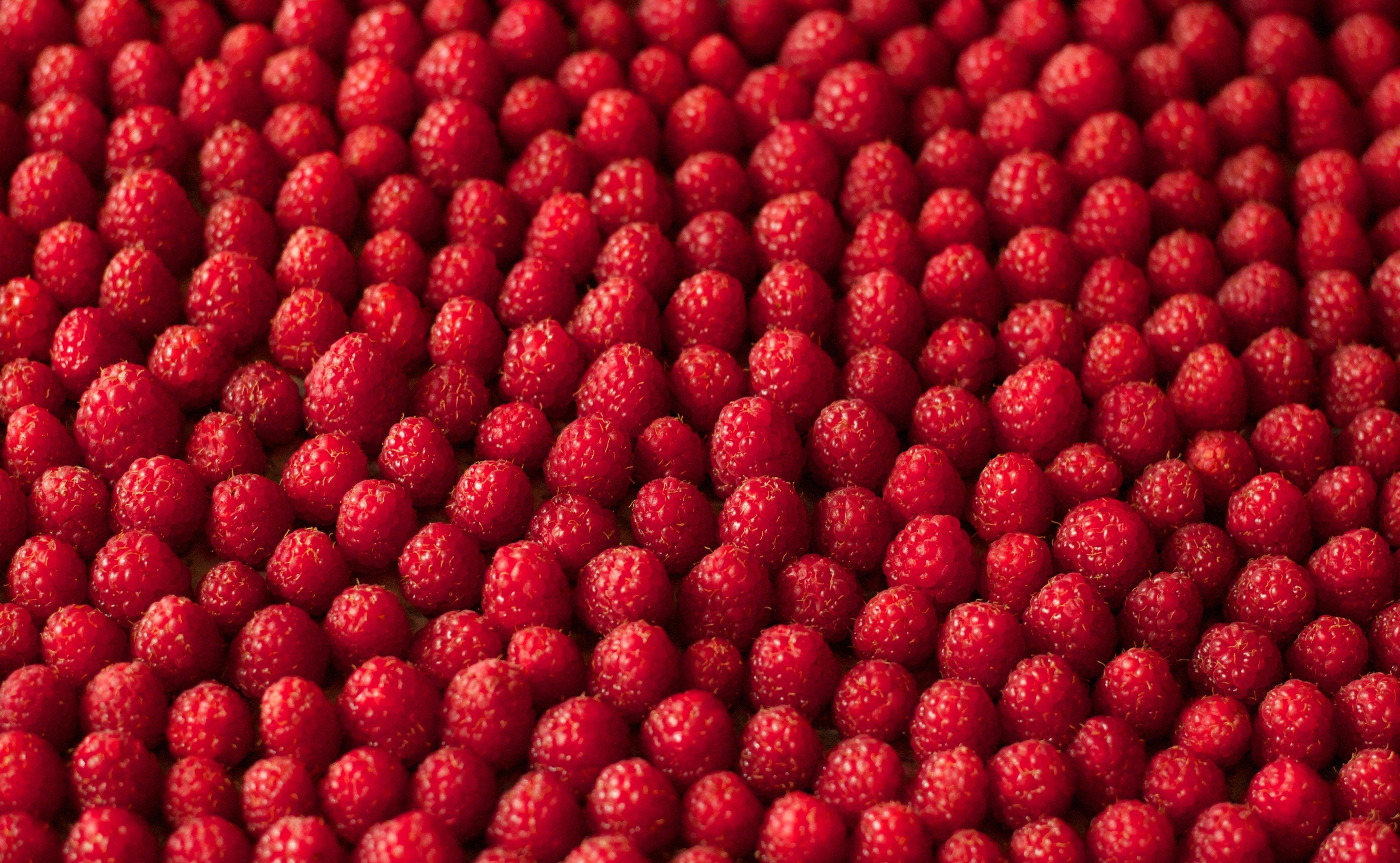 Обои для рабочего стола ягоды малина