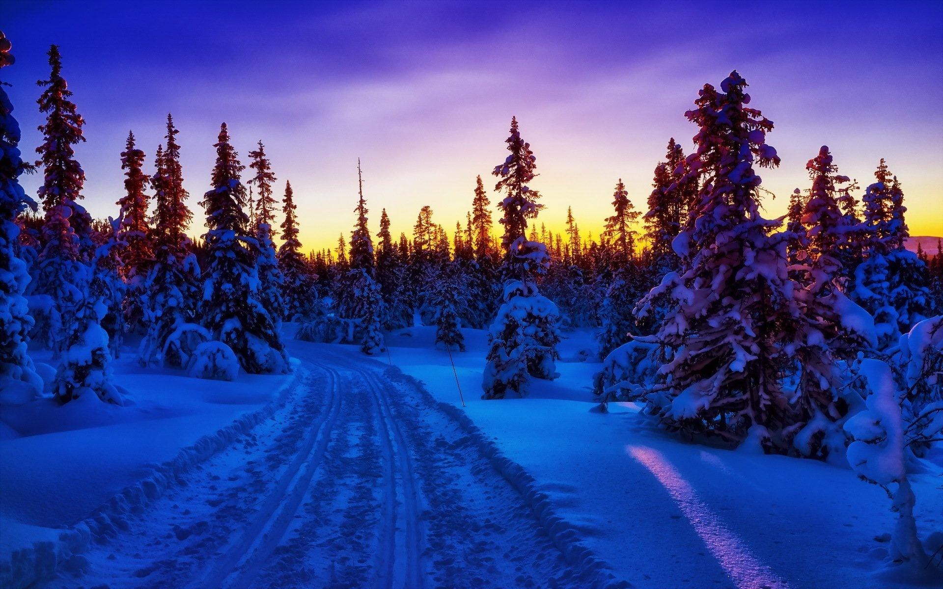 картинки нав рабочий стол зима цветной