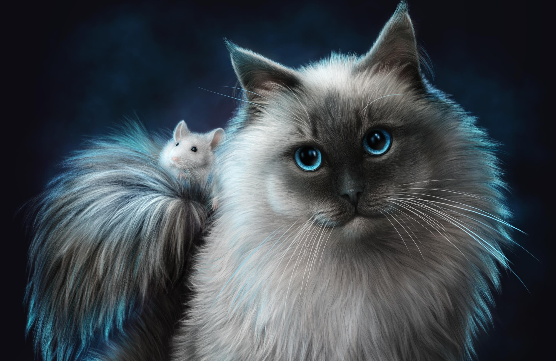 фильме красивые картинки котов фэнтези ландшафтный