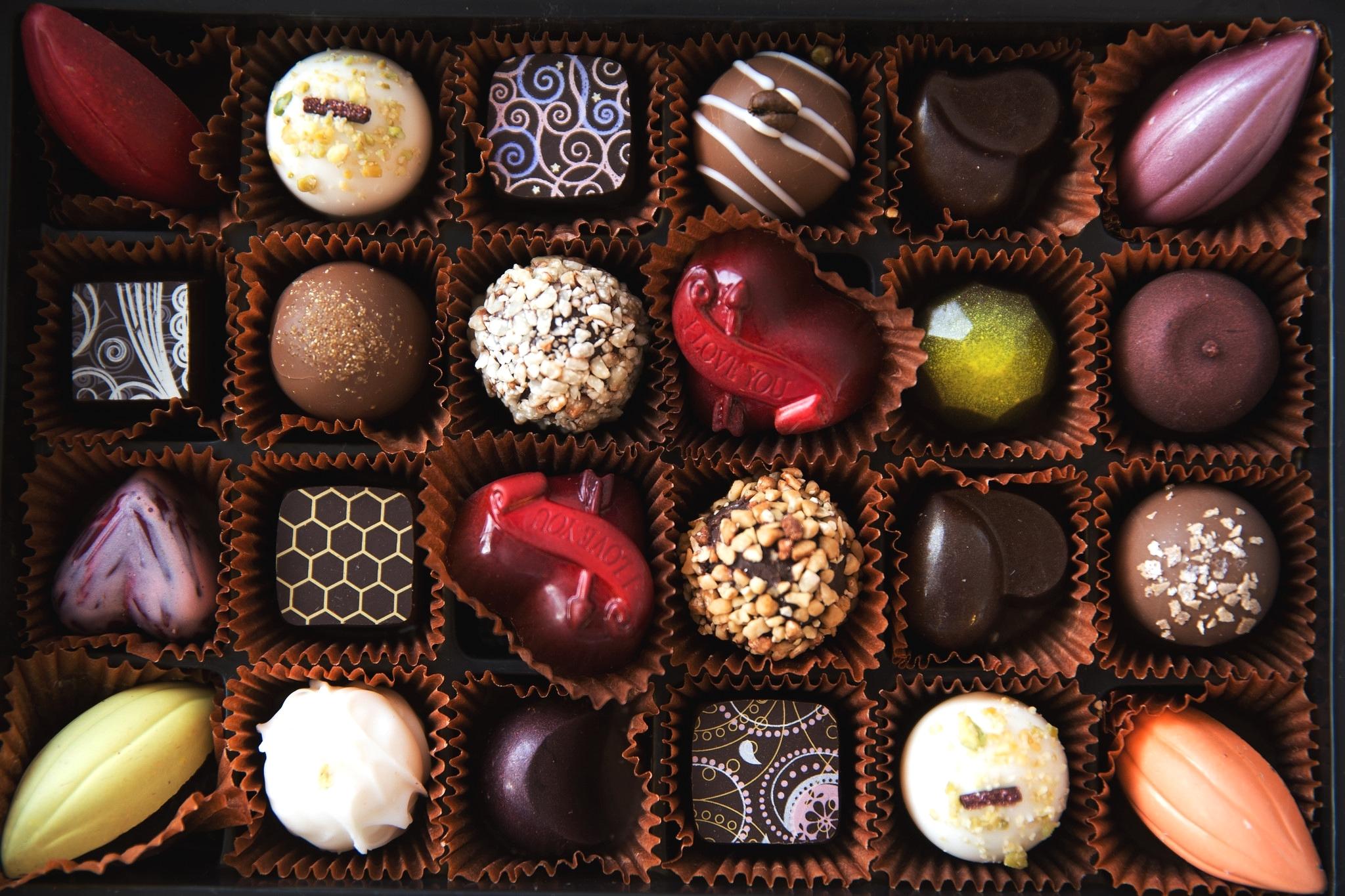 картинки разных красивых конфет собрали