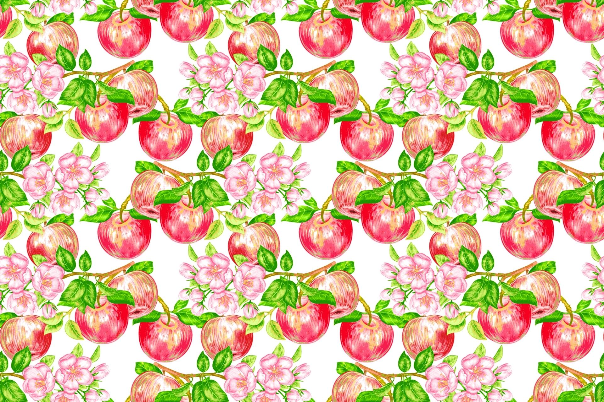 картинка где фон яблоки сделать бэкап