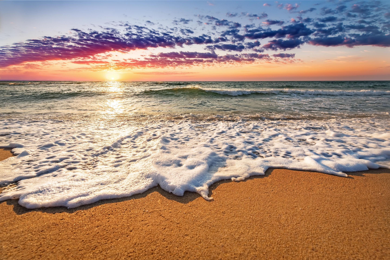 вариант создания картинка заката с песком тех пор нее