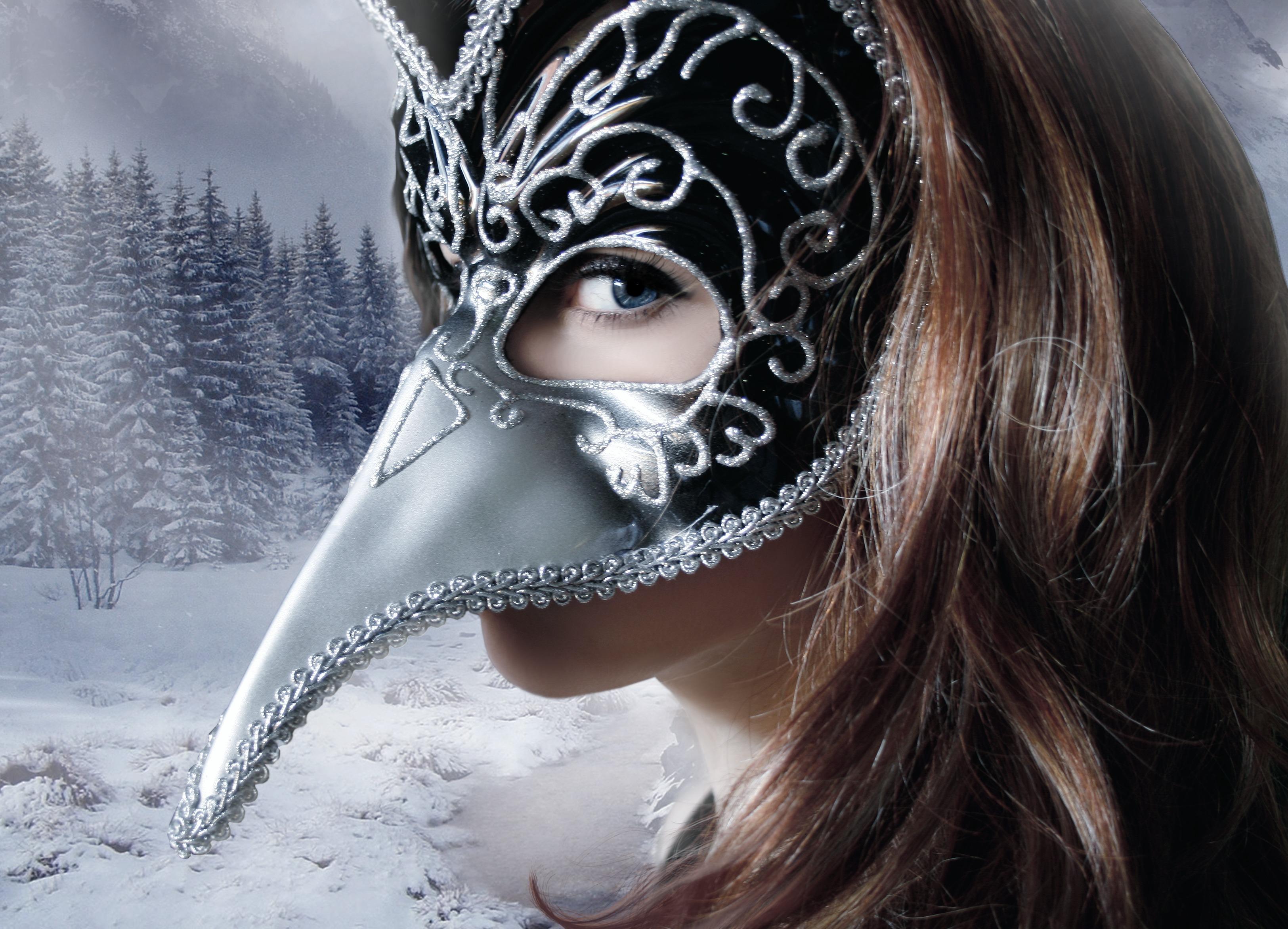 новогодние картинки в масках