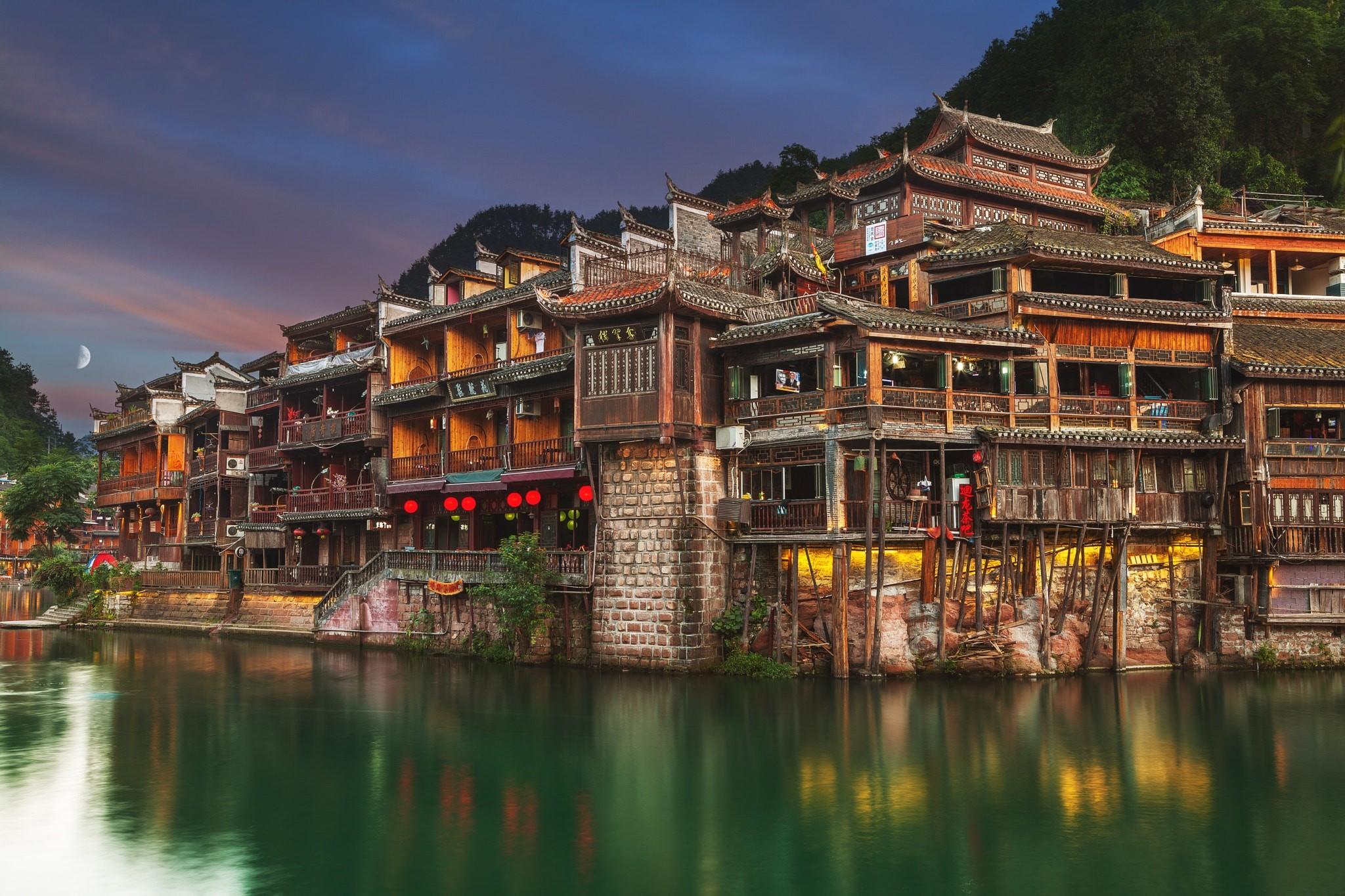 Города китая картинки фото