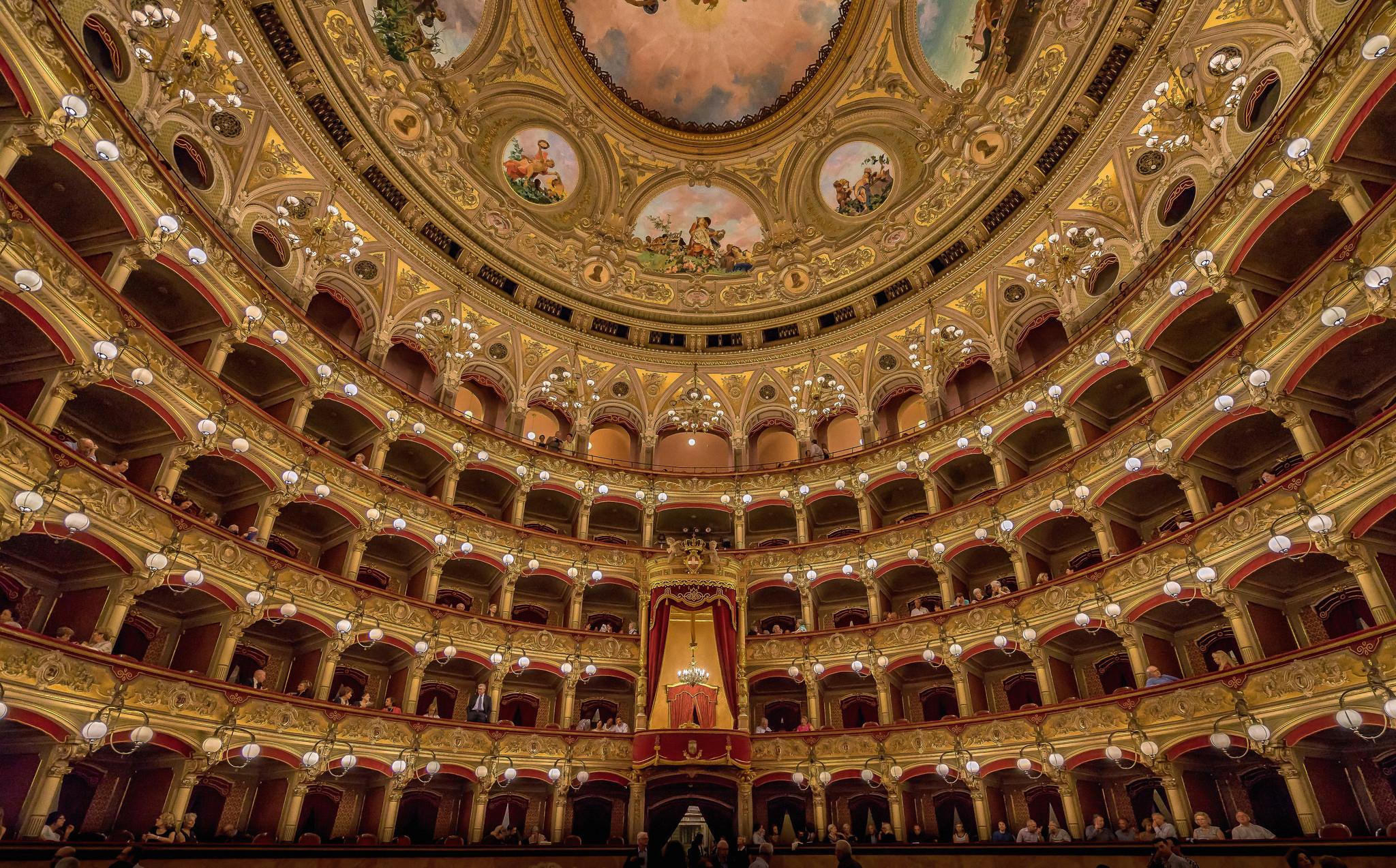 Обои опера, Катания, ночь, Театр Массимо Беллини, дома, сицилия. Города foto 8