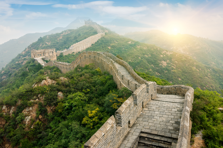 картинки китайской стен полностью